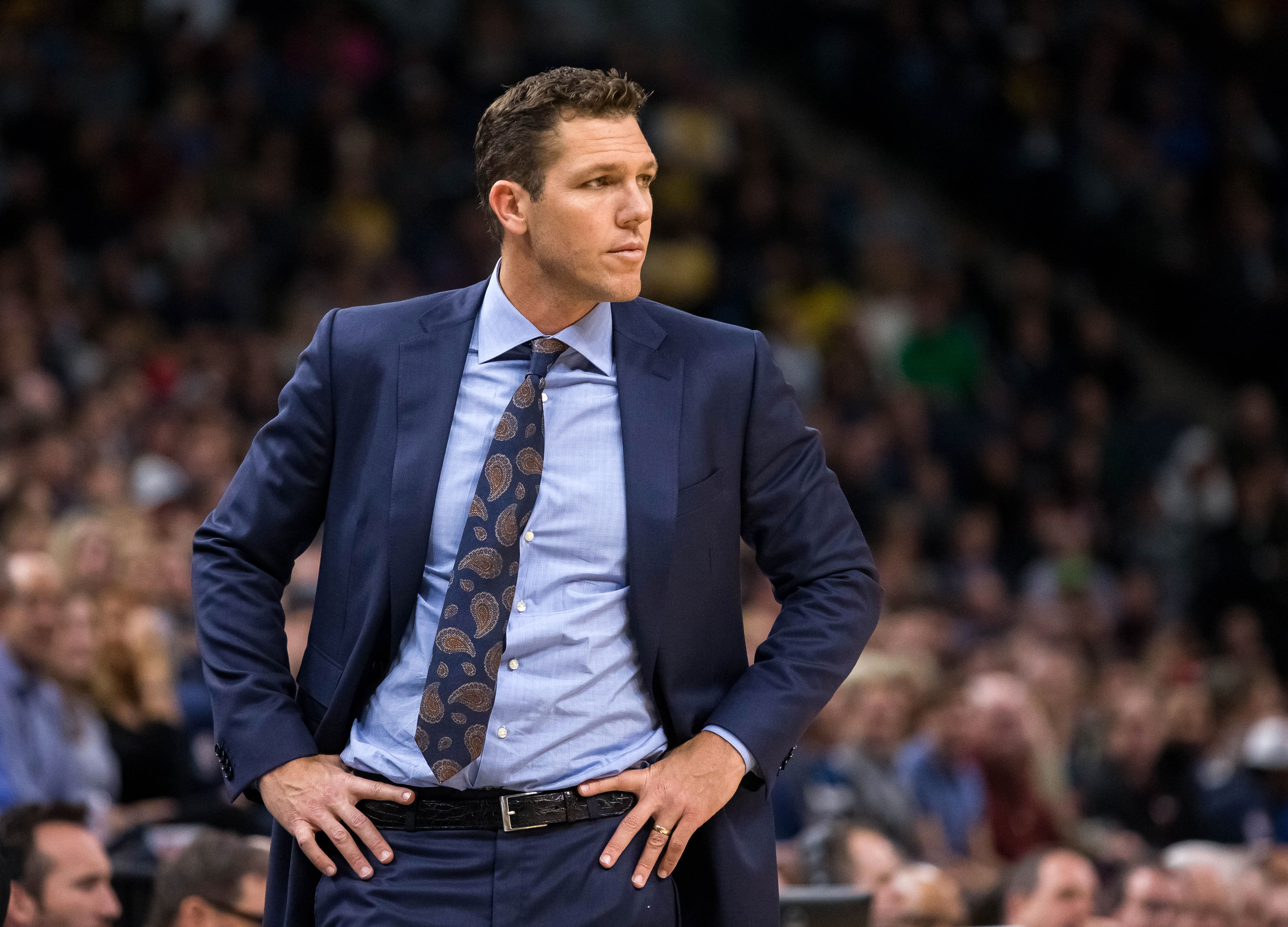 Luke Walton says he has 'a great relationship' with Lakers