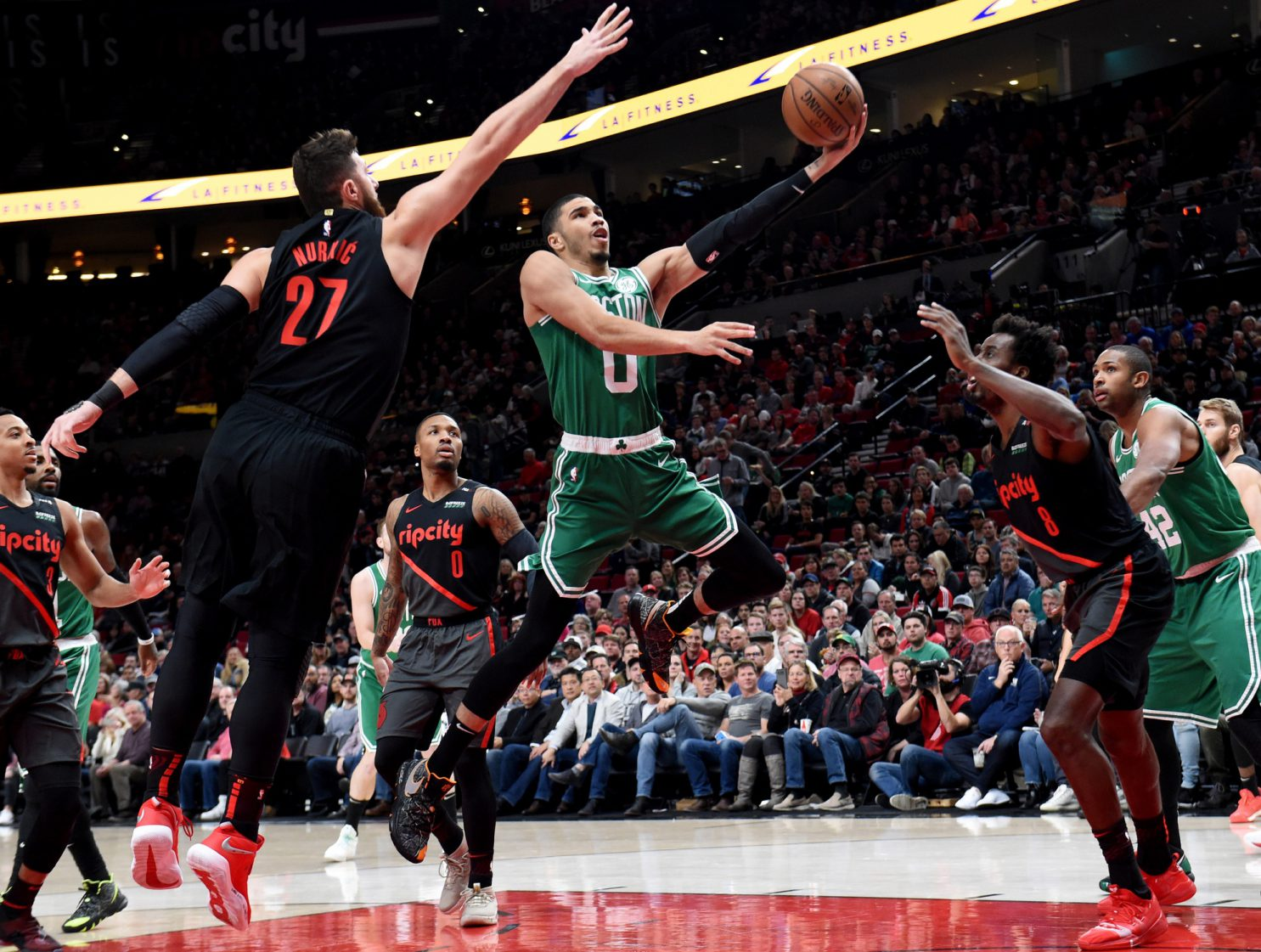Recap: Celtics make brief rallies but can't stop Blazers onslaught