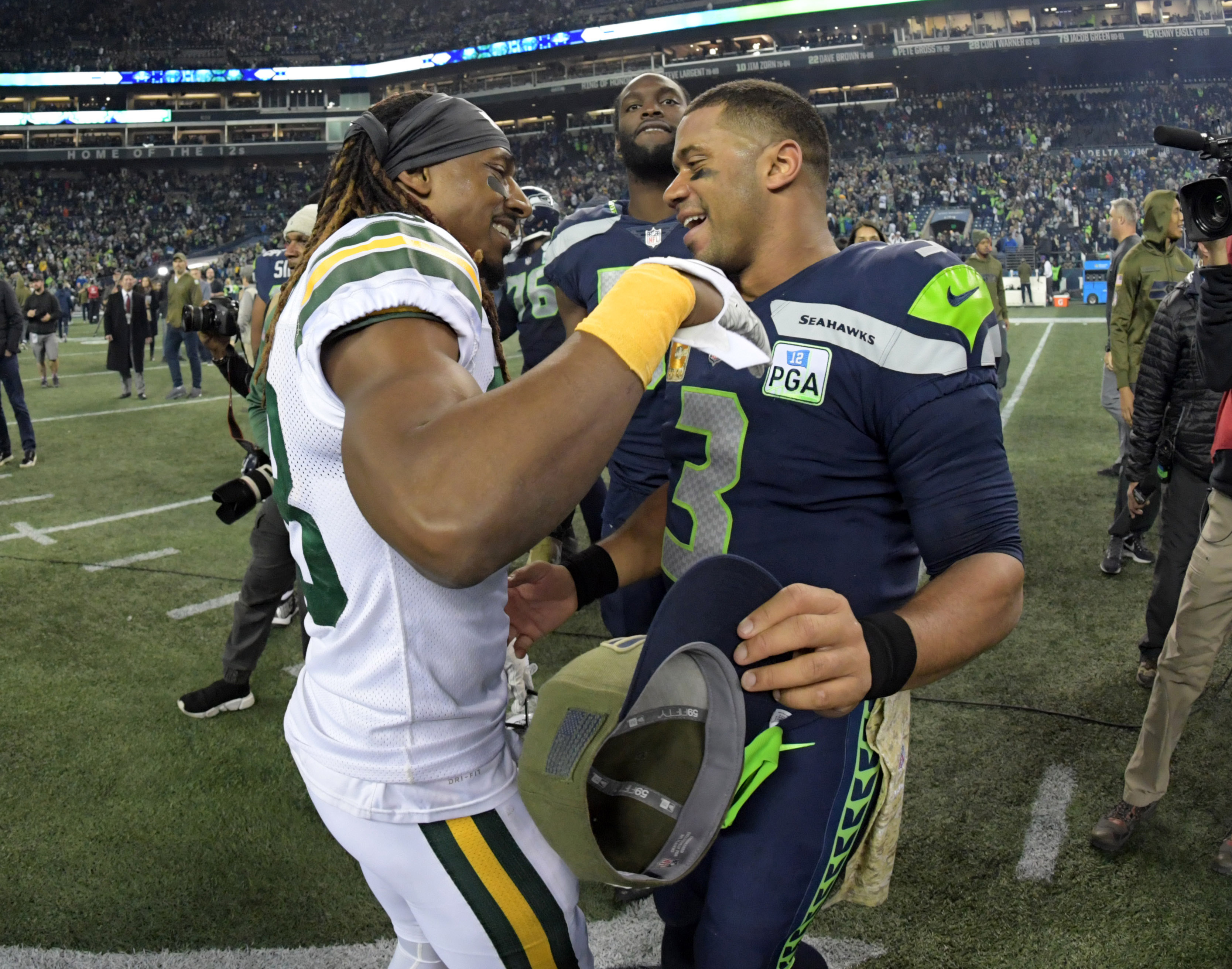 Packers-Seahawks TV ratings were highest in years for 'Thursday Night Football'