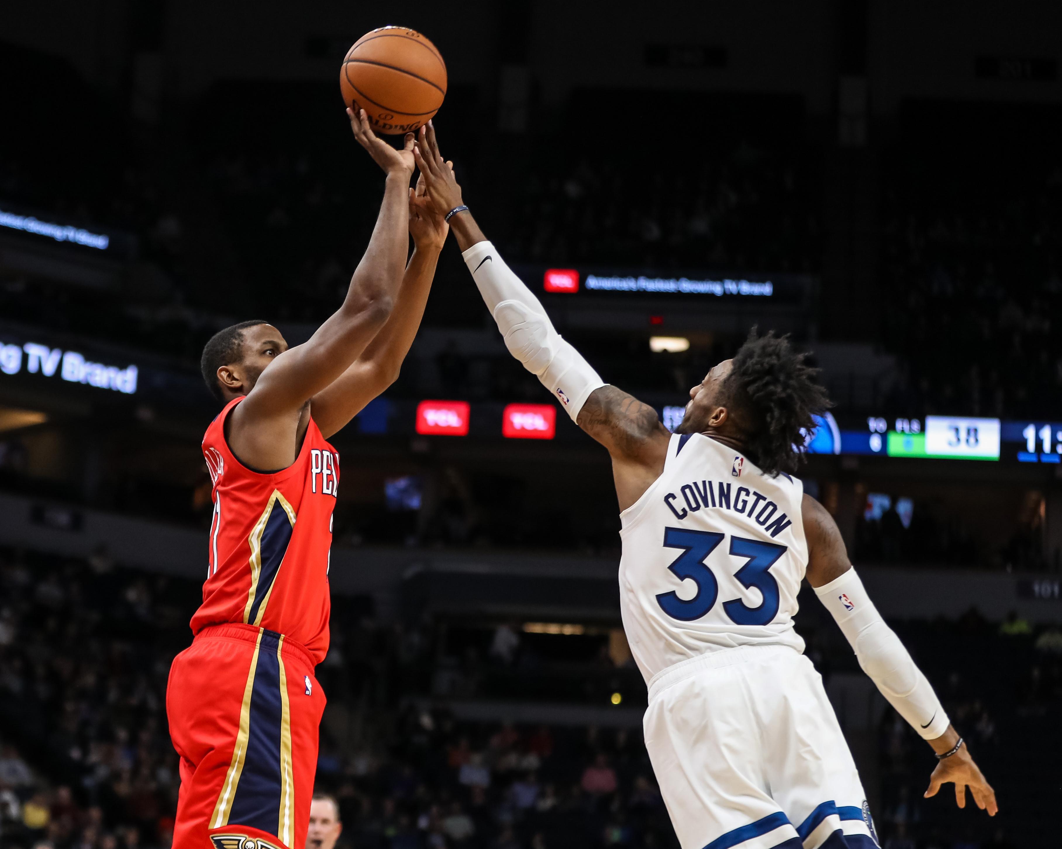 Pelicans vs Timberwolves
