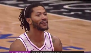 Derrick Rose draws MVP chants from Bulls fans in Chicago (Video)