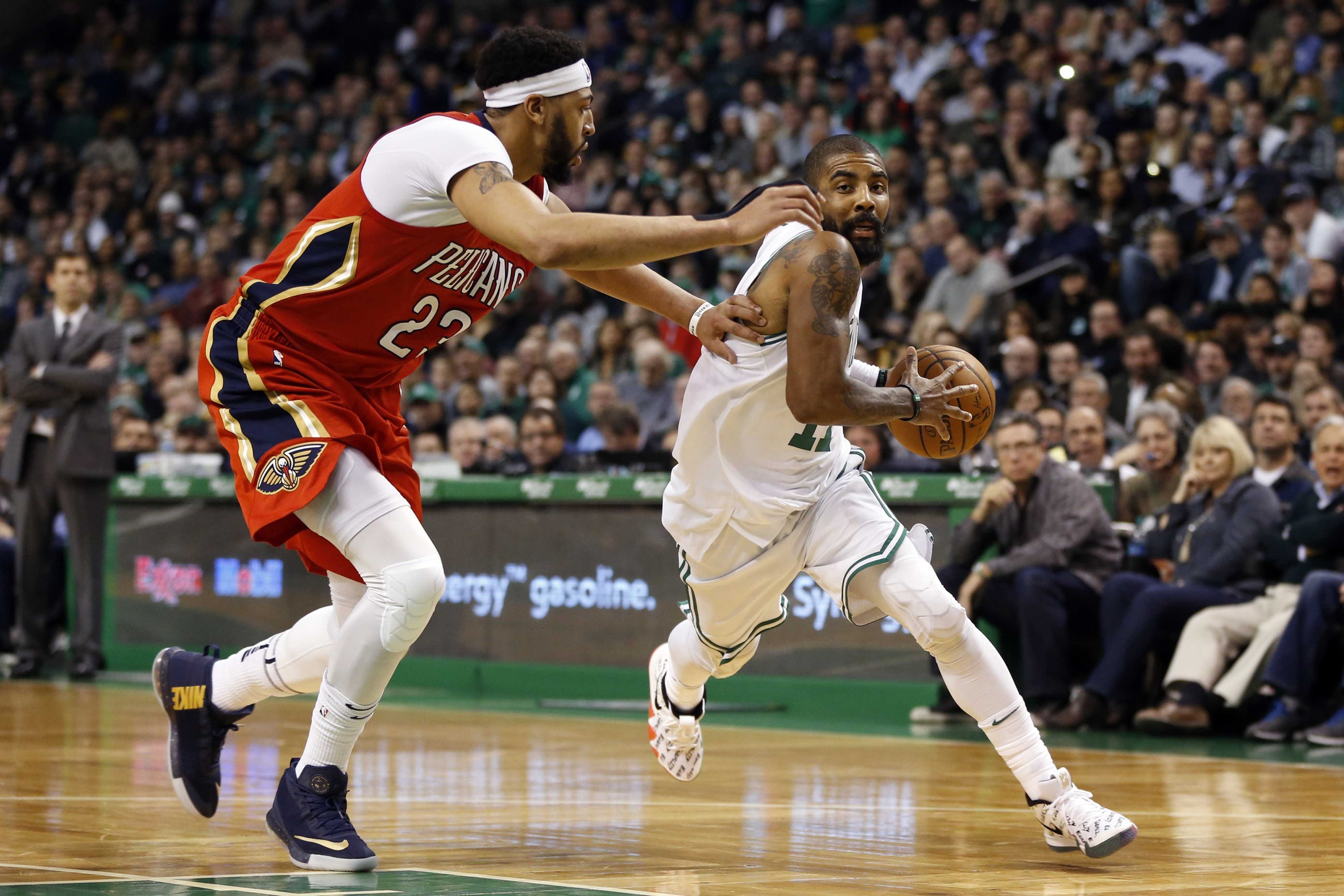 The Anthony Davis trade smoke is blowing to LA and Boston
