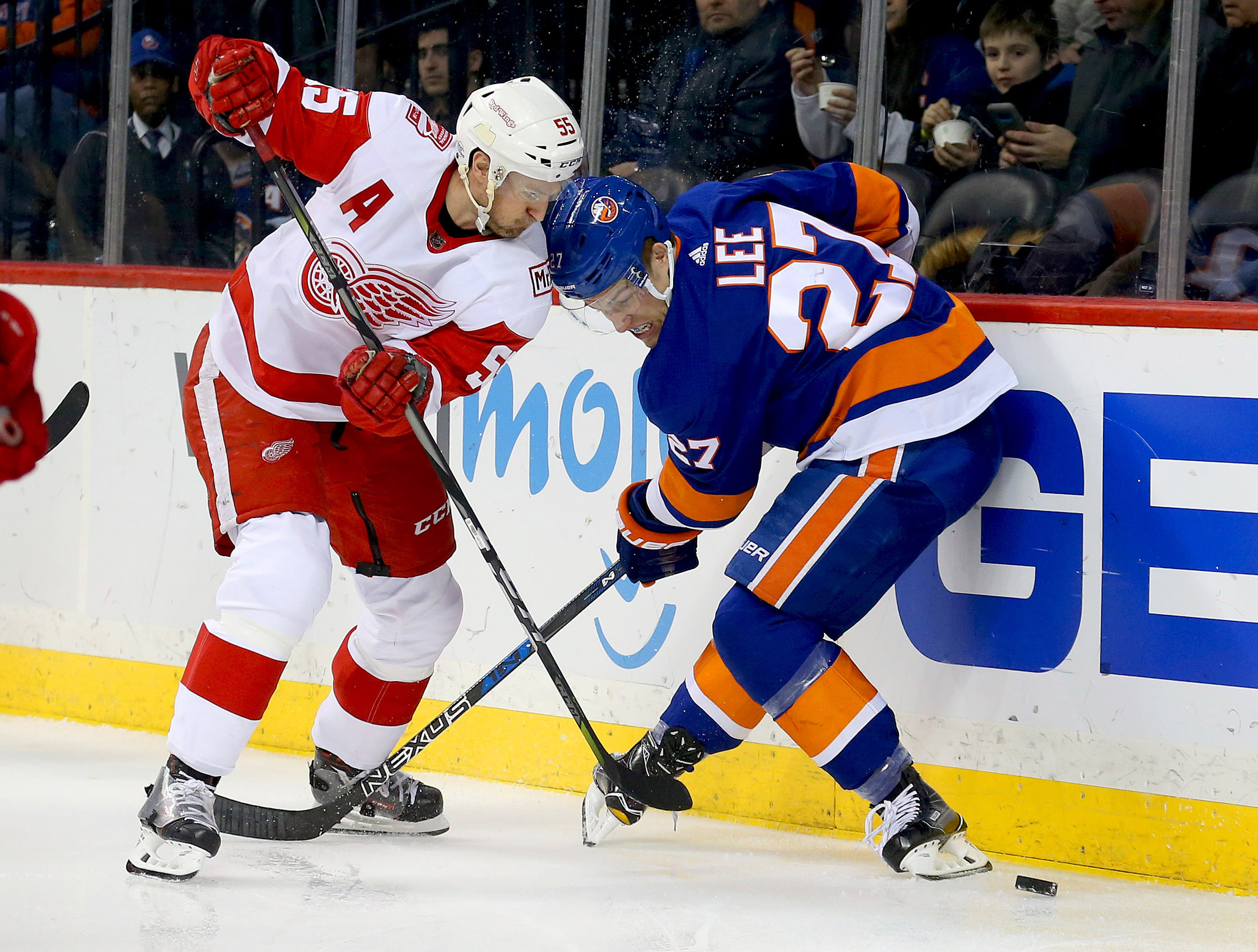 Islanders look for points not vengeance in rematch with Red Wings