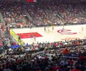 Watch: Hawks fans taunt Kevin Durant with funny chant during game