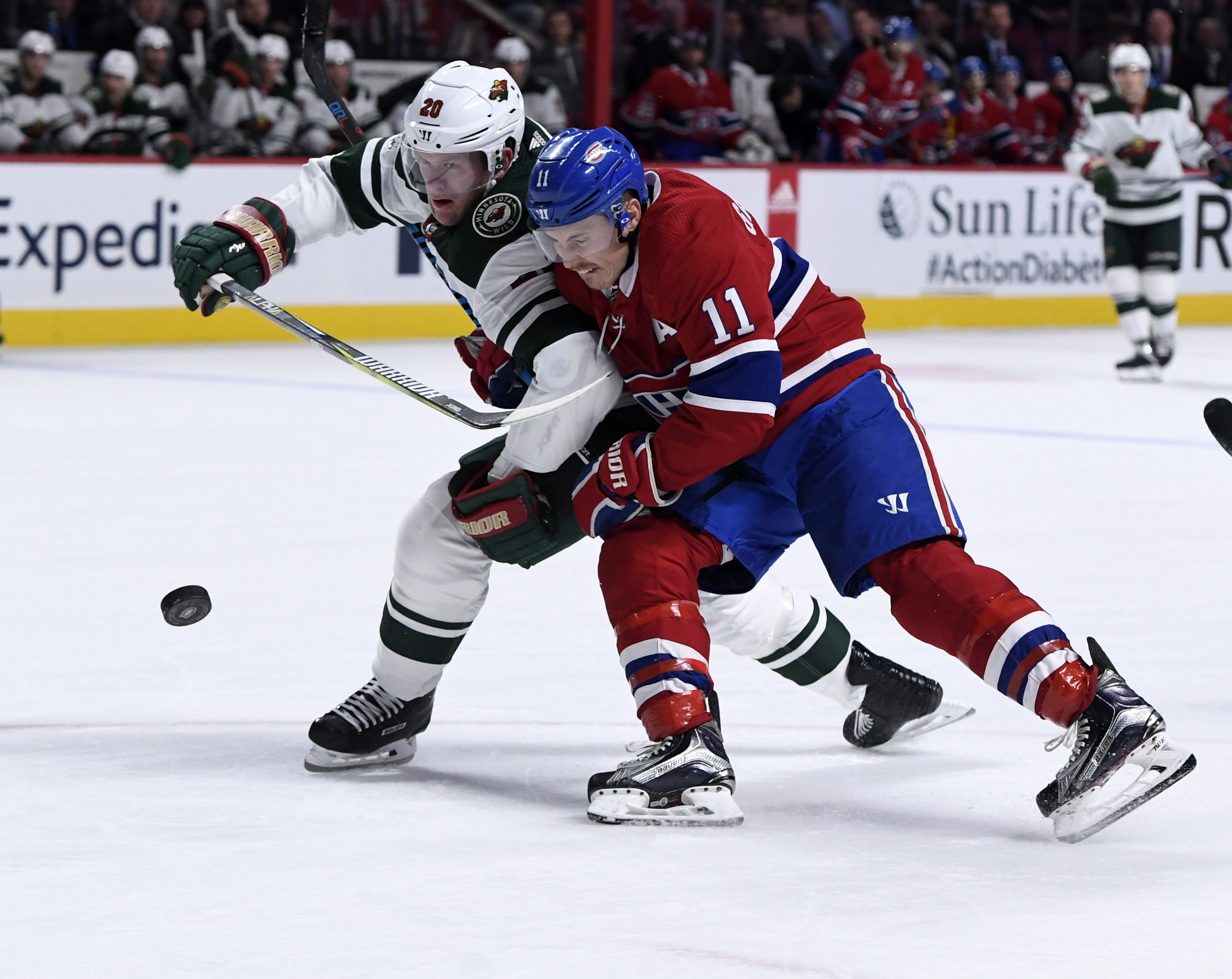 Game Preview: Minnesota Wild vs. Montreal Canadiens 12/11/18 @ 7:00PM CST at Xcel Energy Center