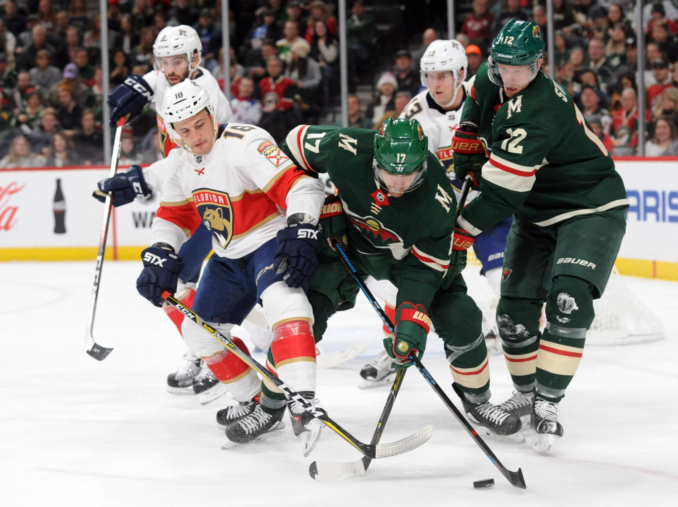 Game Preview: Minnesota Wild vs. Florida Panthers 12/13/18 @ 7:00PM CST at Xcel Energy Center