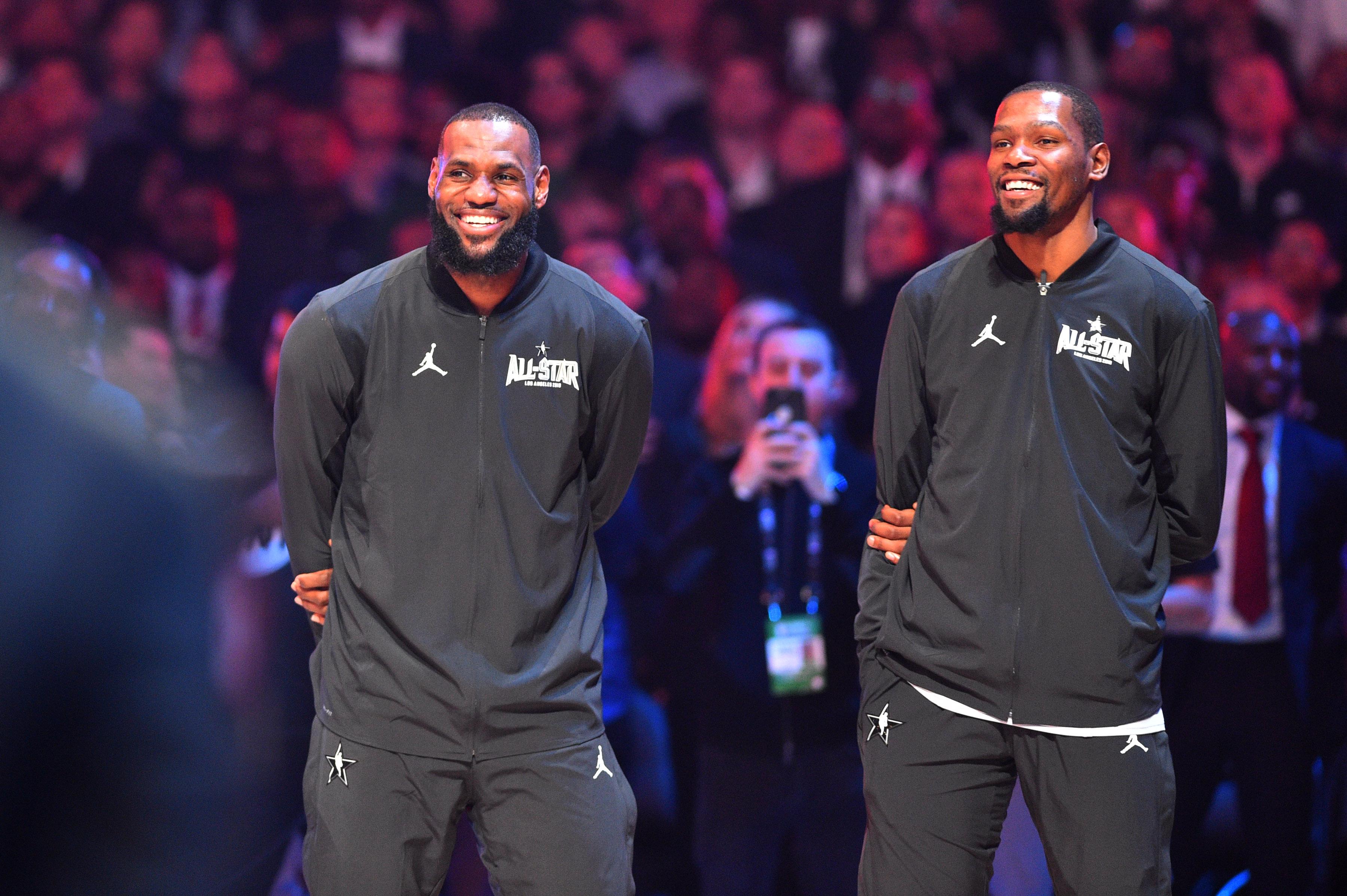 Kevin Durant, LeBron James