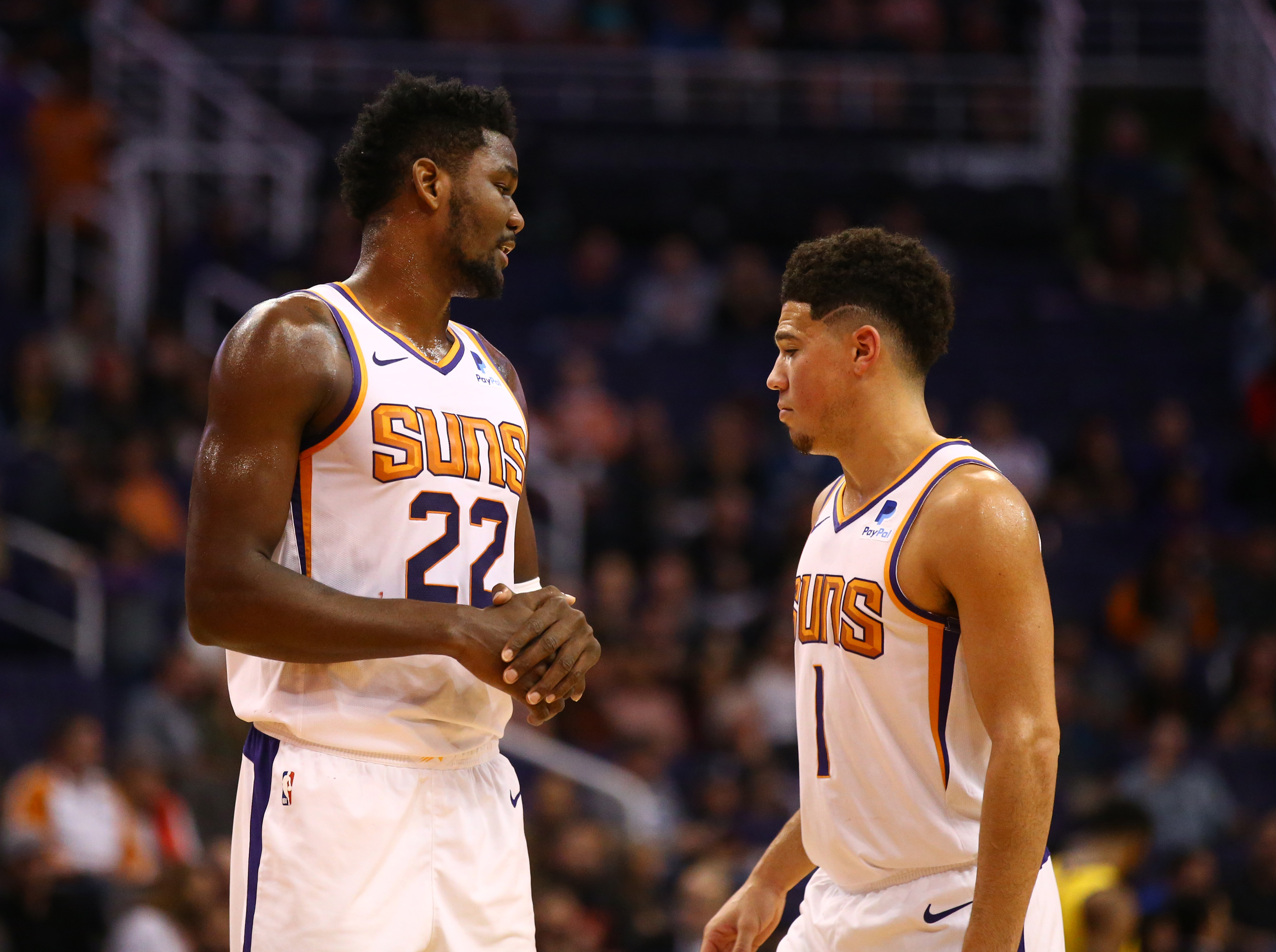 Suns rumors indicate dissension between Deandre Ayton, Devin Booker after recent heated argument