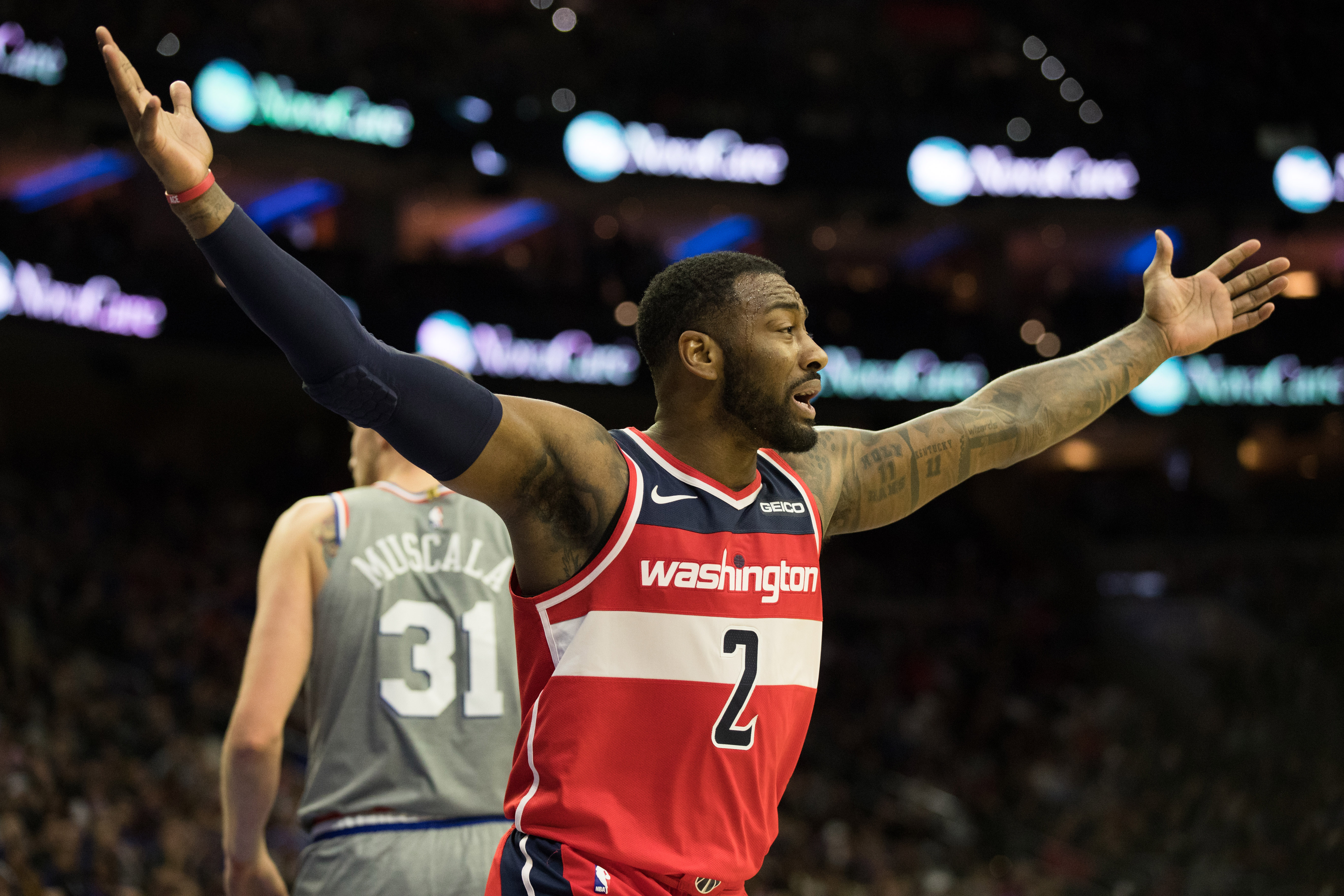 John Wall says he has 'no respect' for officials and Bradley Beal understands why