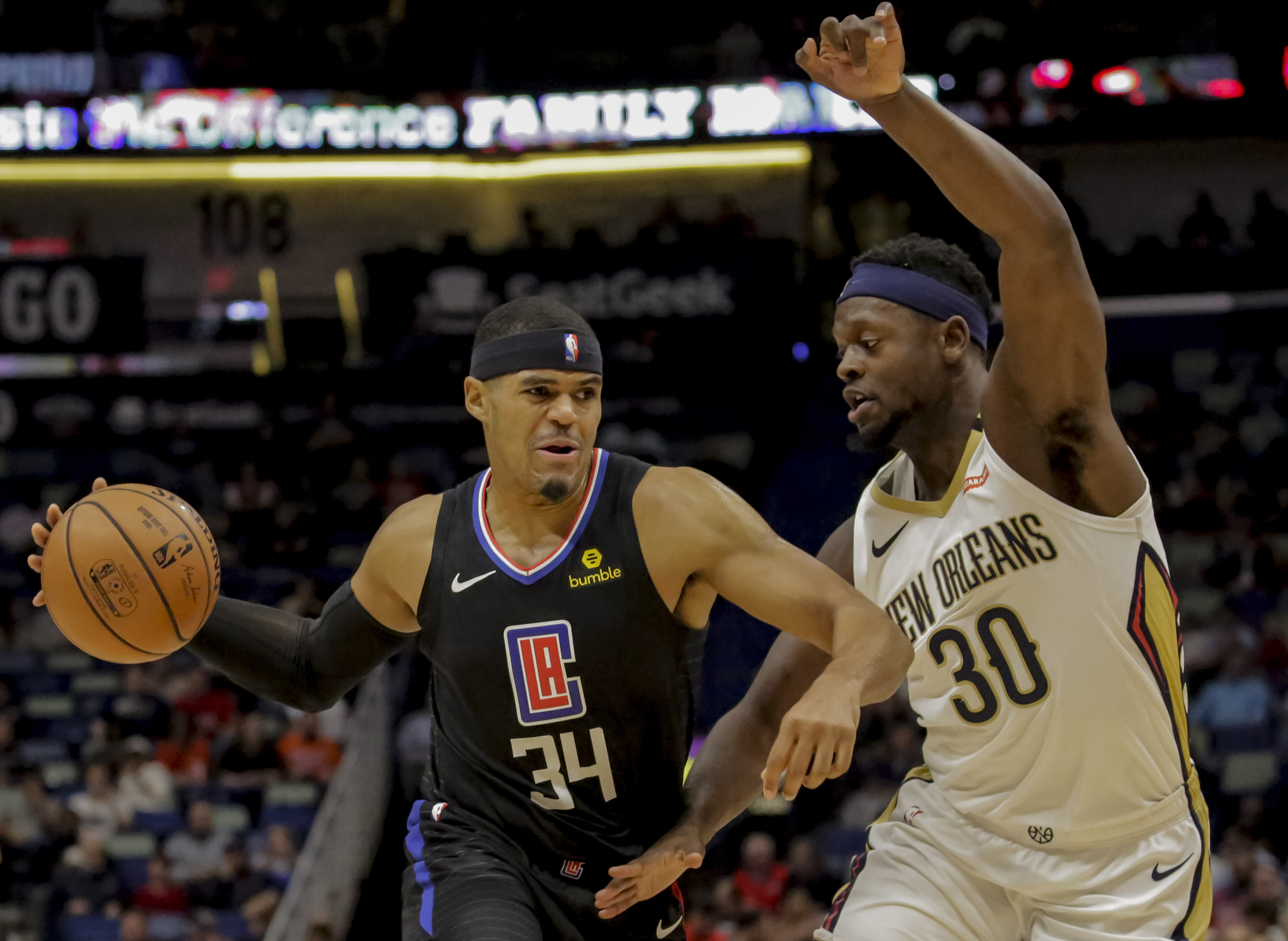 Tobias Harris Proves He Earned Player of the Month Award in Win Against Pelicans 129-126