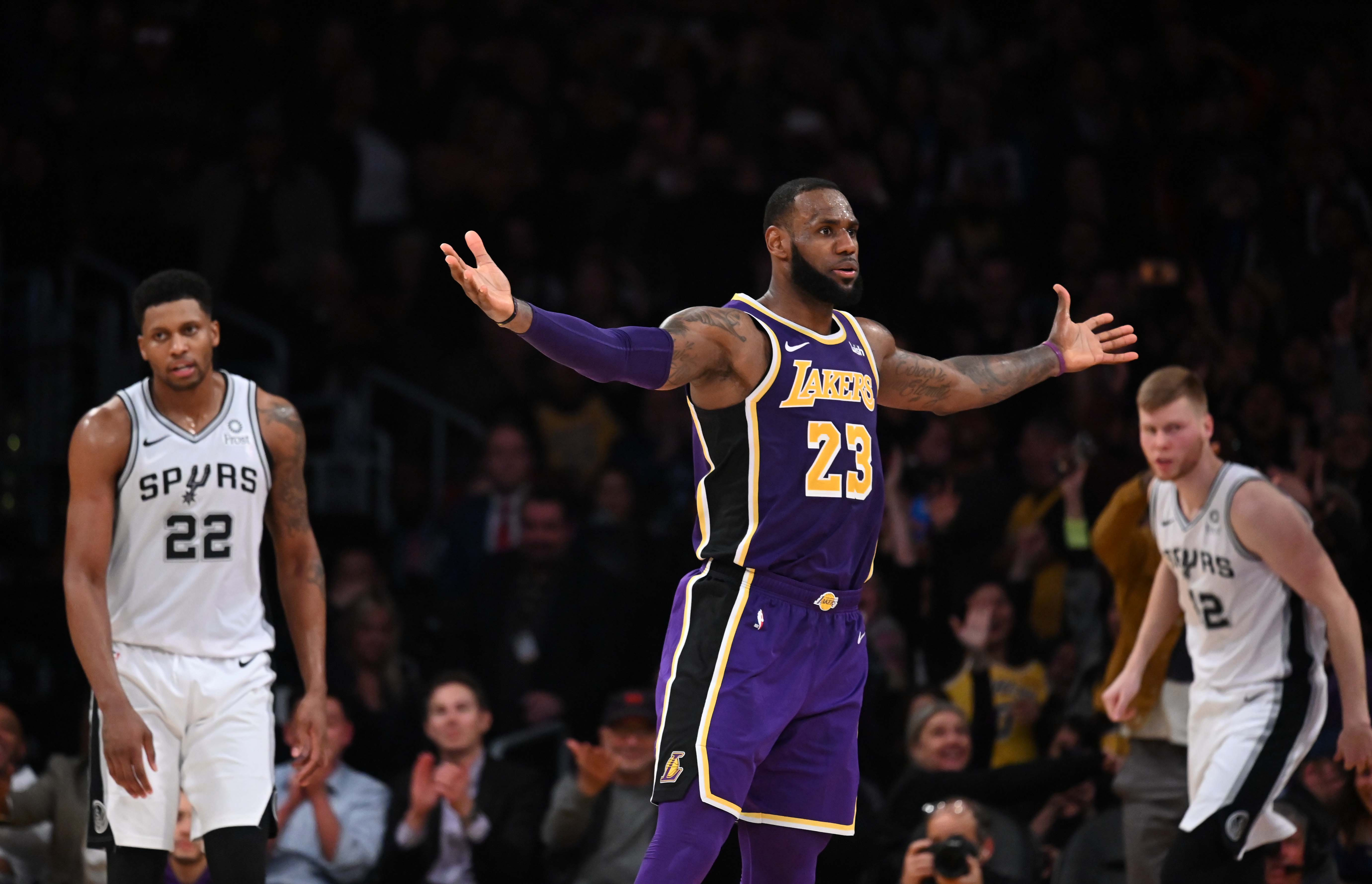 NBA Finals 2020: LeBron James and Danny Green join