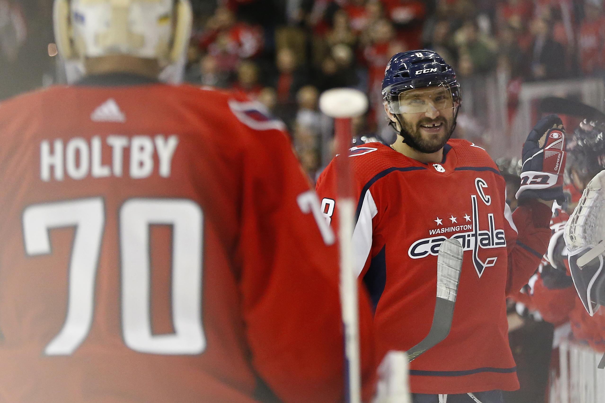 Watch: Washington Capitals' Alex Ovechkin records 21st Hat Trick