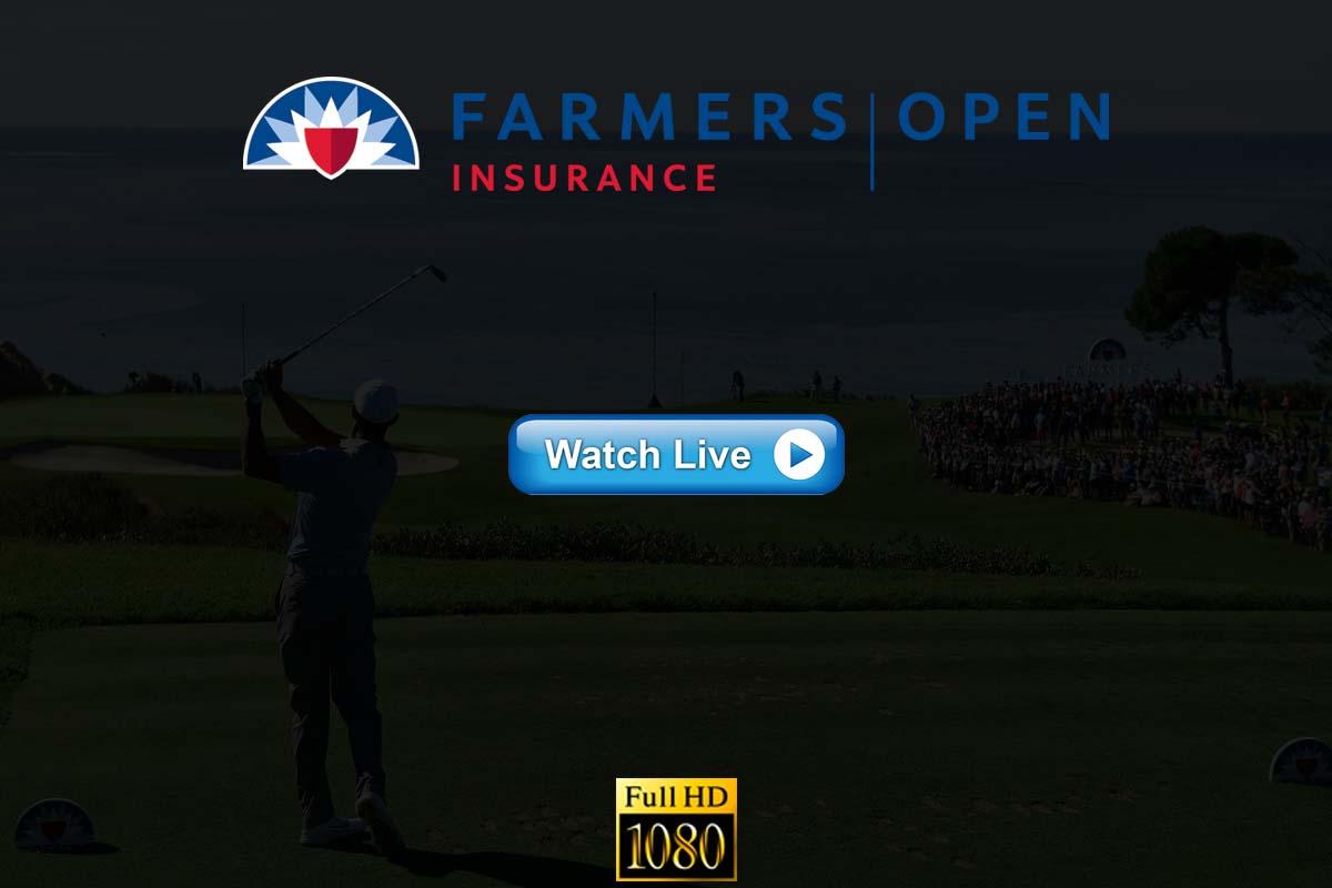 Farmers Insurance Open live streaming Reddit
