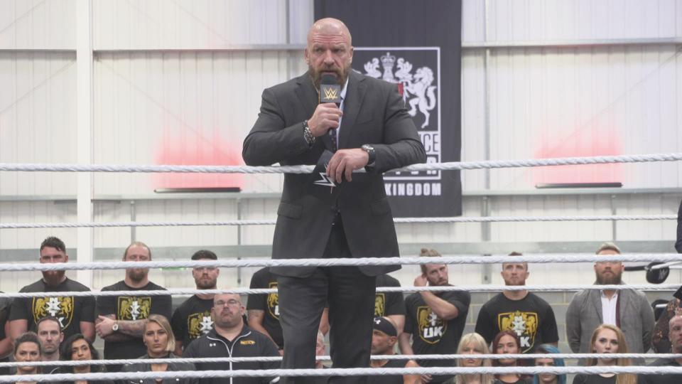 LOOK: Triple H Reveals New WWE UK Performance Center