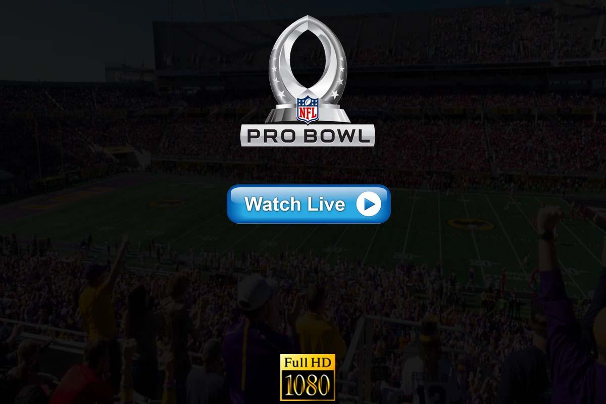 NFL Pro Bowl live streaming 2020 Reddit