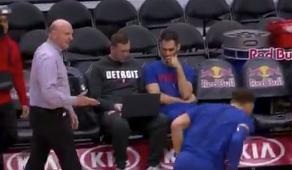 Blake Griffin snubs Clippers owner Steve Ballmer on handshake attempt (Video)