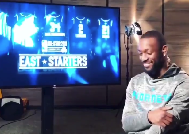 Kemba Walker reacts to being named All-Star Game starter (Video)