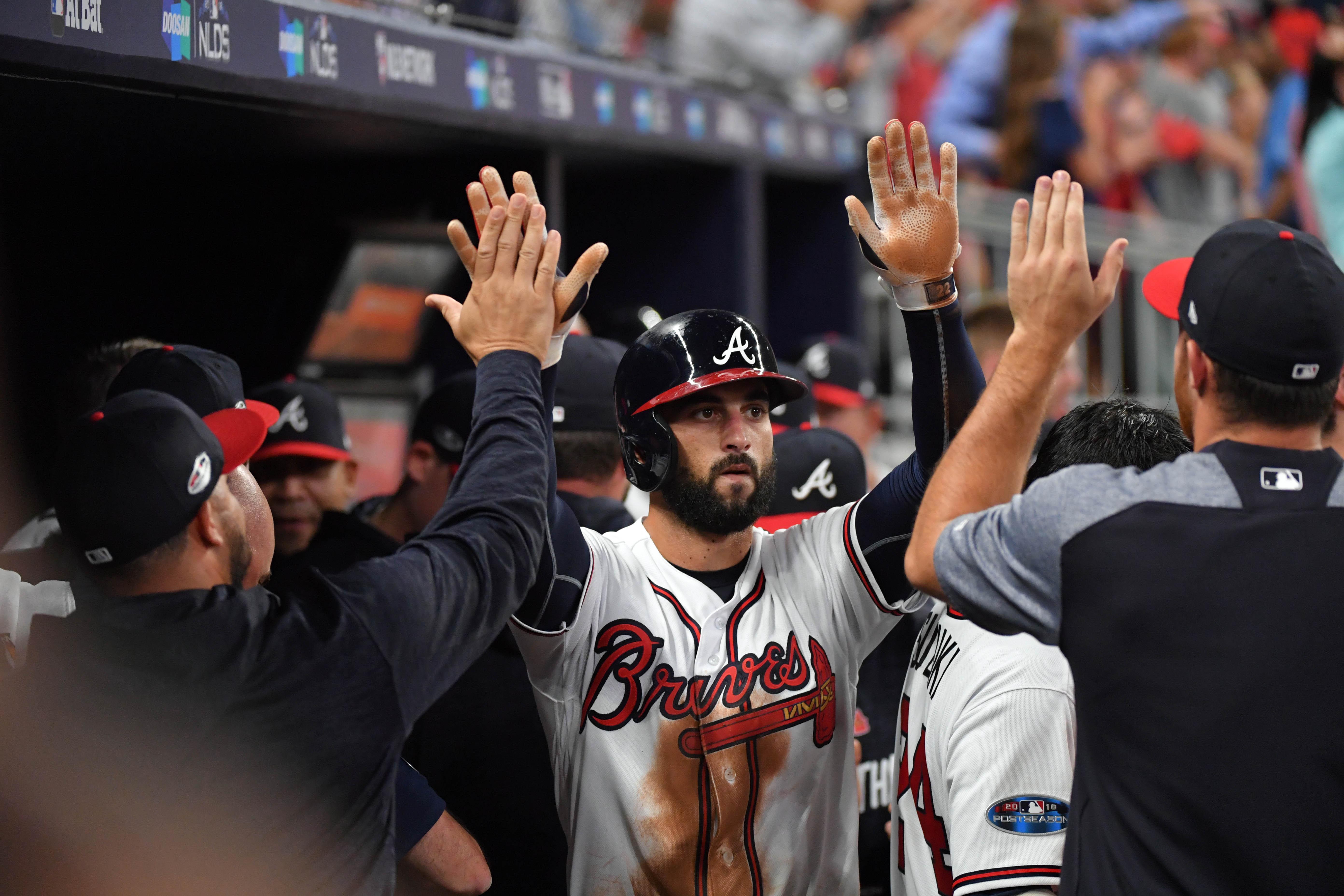 Atlanta Braves Outfielder Nick Markakis