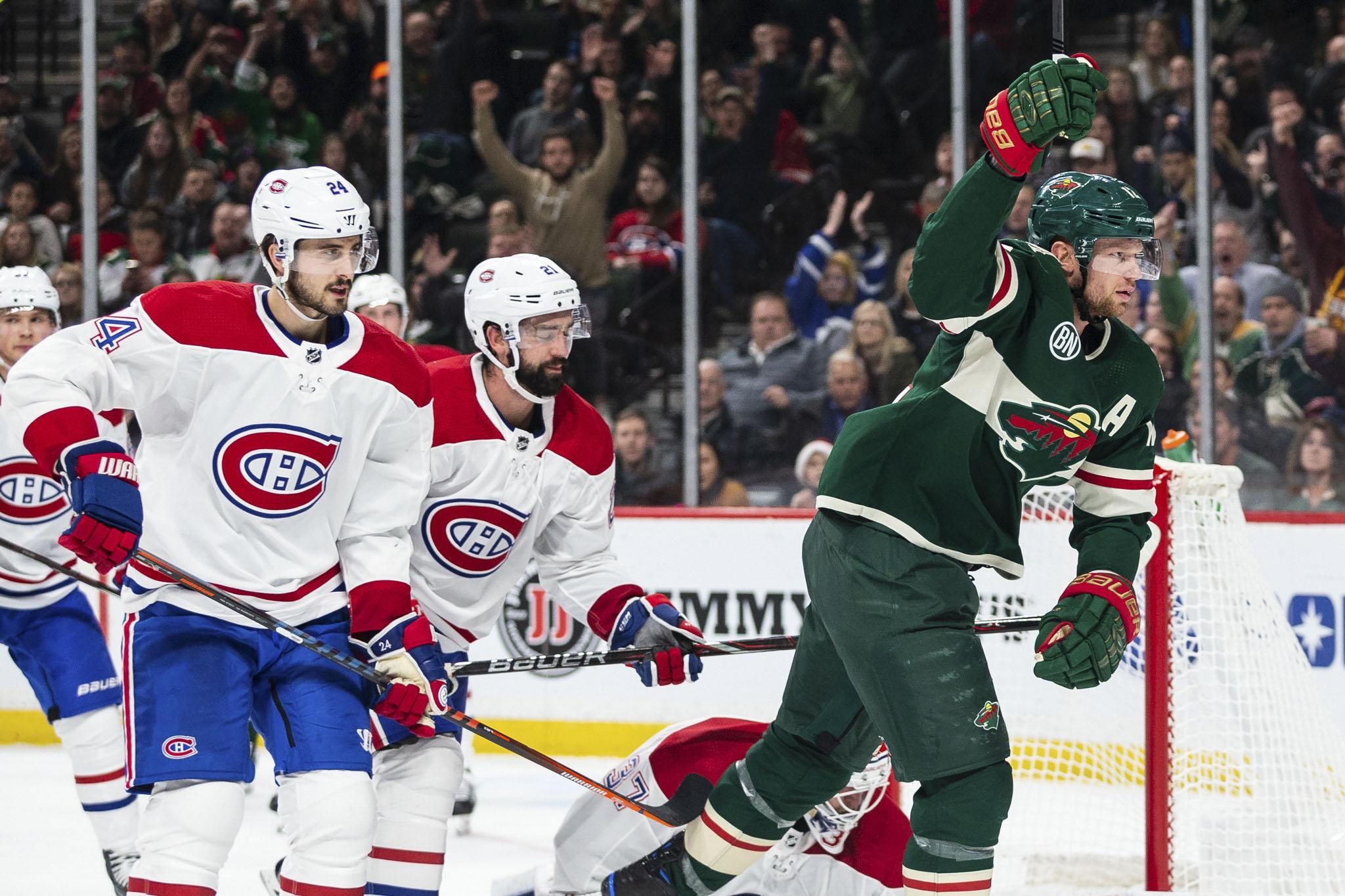 Dubnyk, Wild Shut Down Montreal 1-0