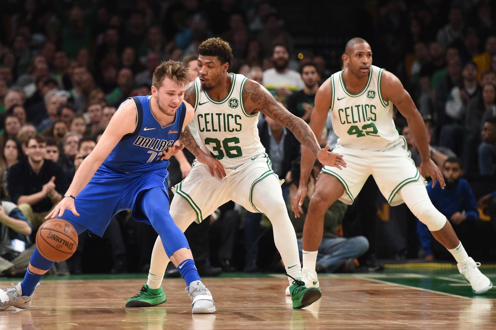 Recap: Brown, Smart lead Celtics over listless Mavs
