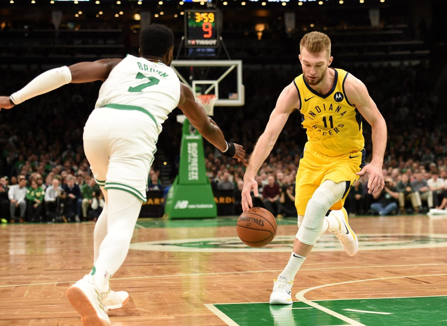 Recap: Celtics drop extinction level event on listless Pacers, bring them back to the Hoosier Age (sometime before the Permian)