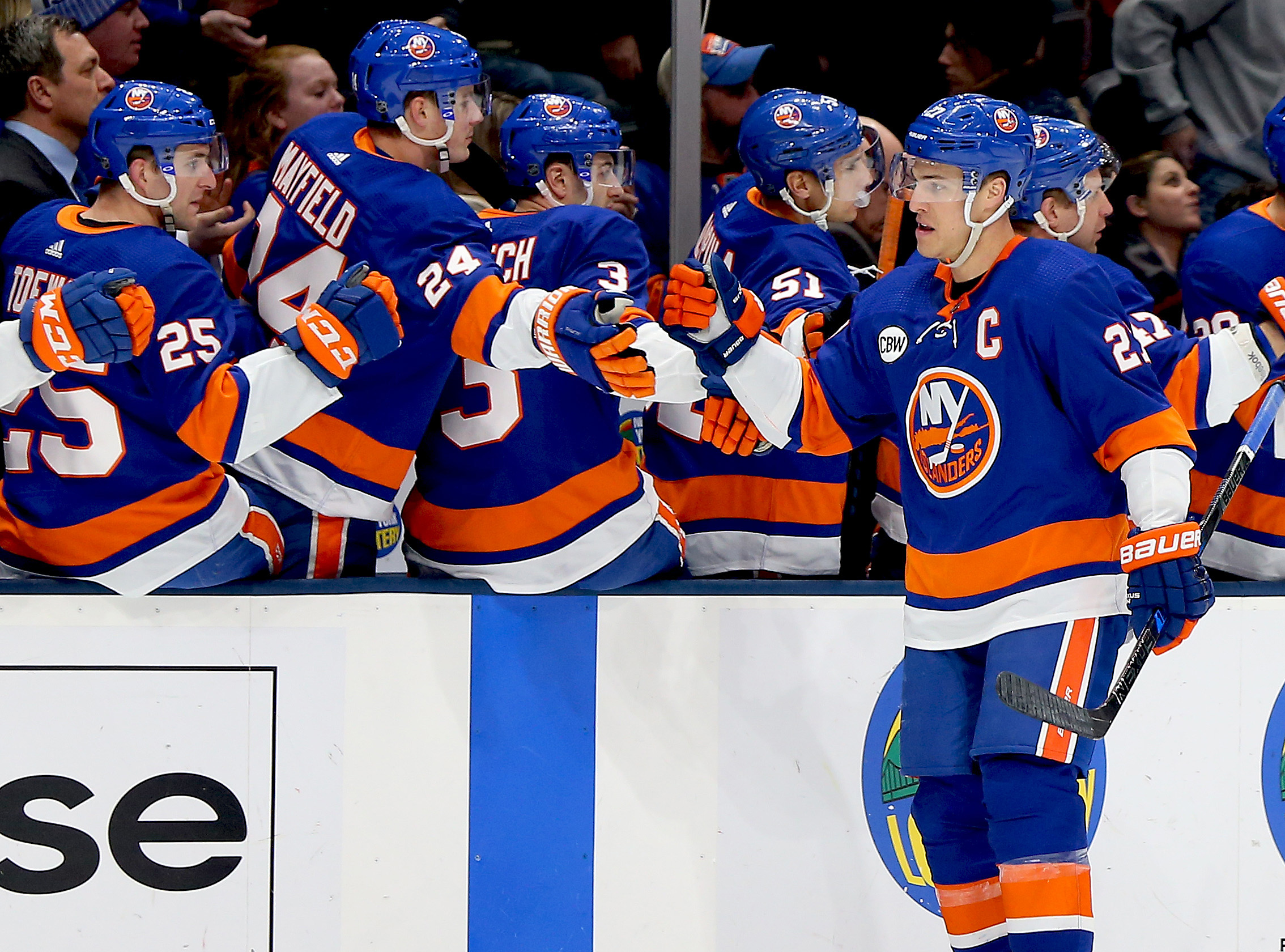 Islanders win third straight game with 4-1 victory over New Jersey