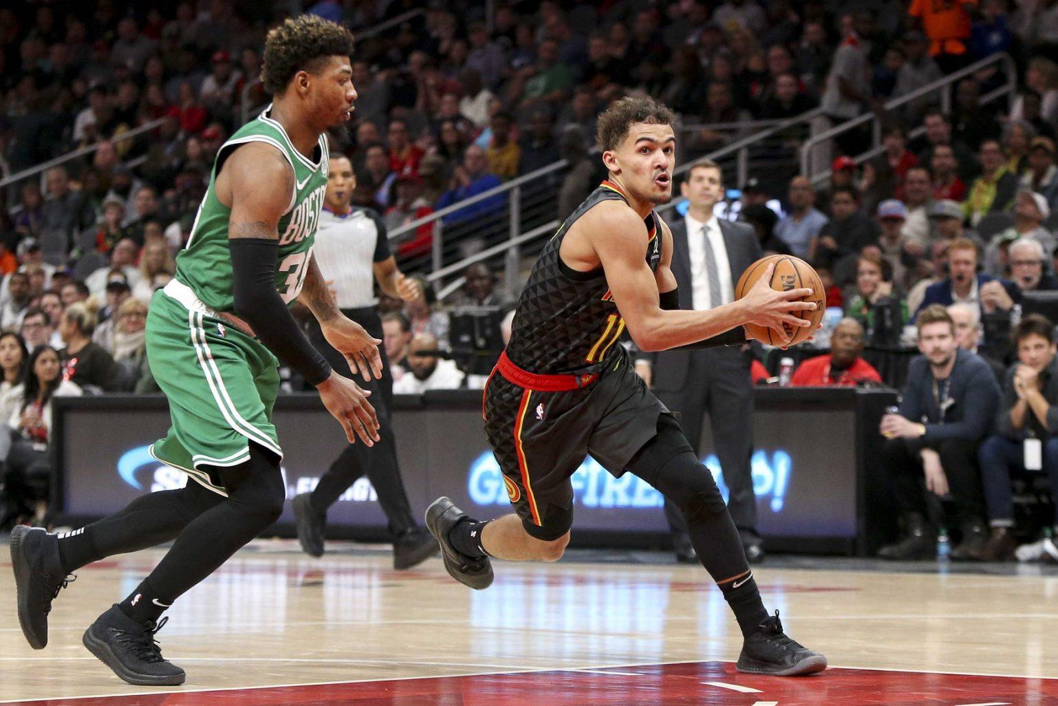 Recap: Celtics overcome first-half beak attack, bring out clutch birdshot to kill Hawks