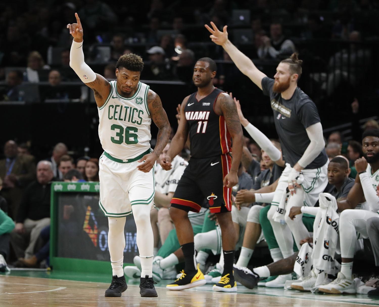 Recap: Celtics keep the Heat at room temperature in 107-99 win over Miami