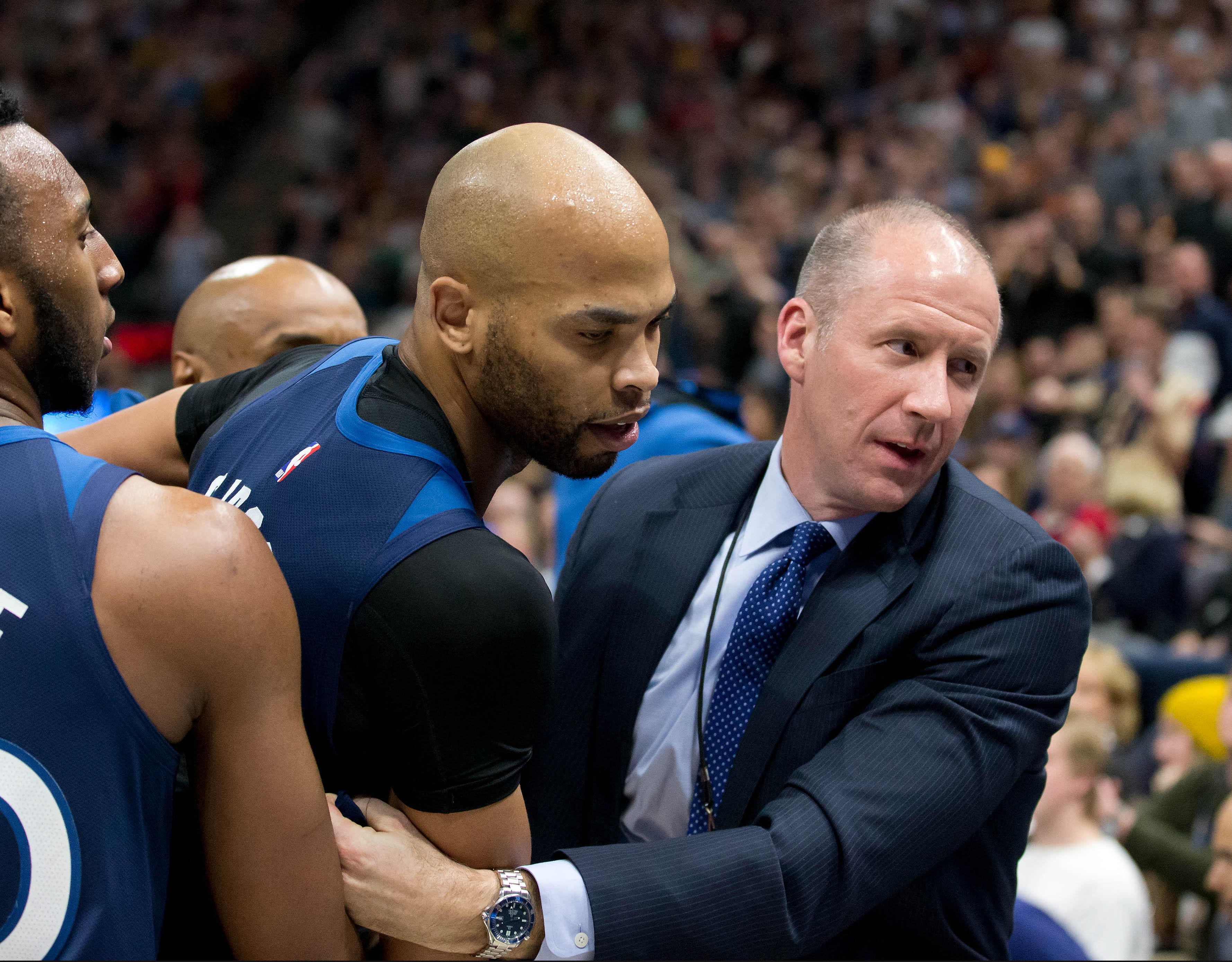 Taj Gibson, You Did Nothing Wrong Here