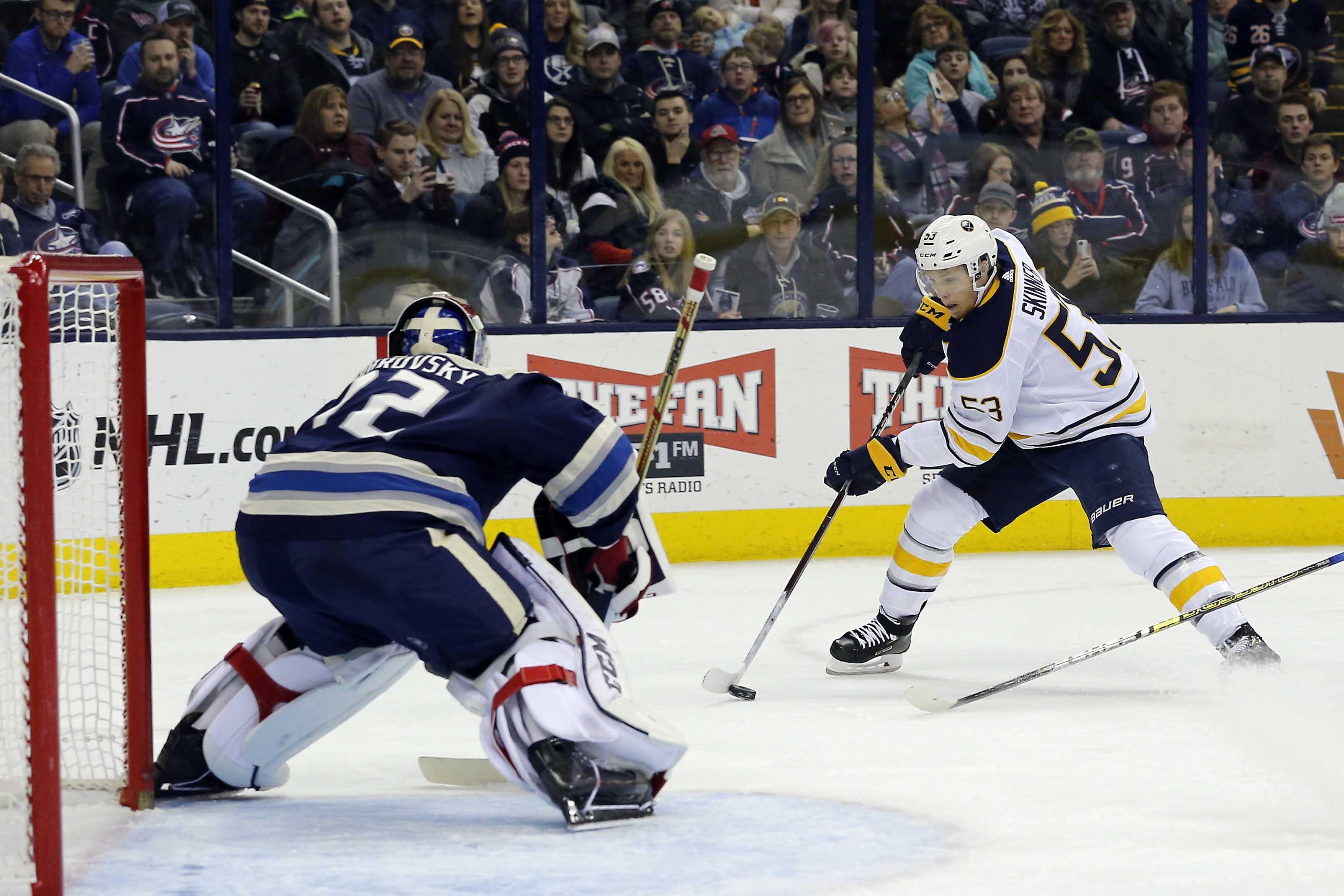 Watch: Sabres' Jeff Skinner's Breakaway Goal