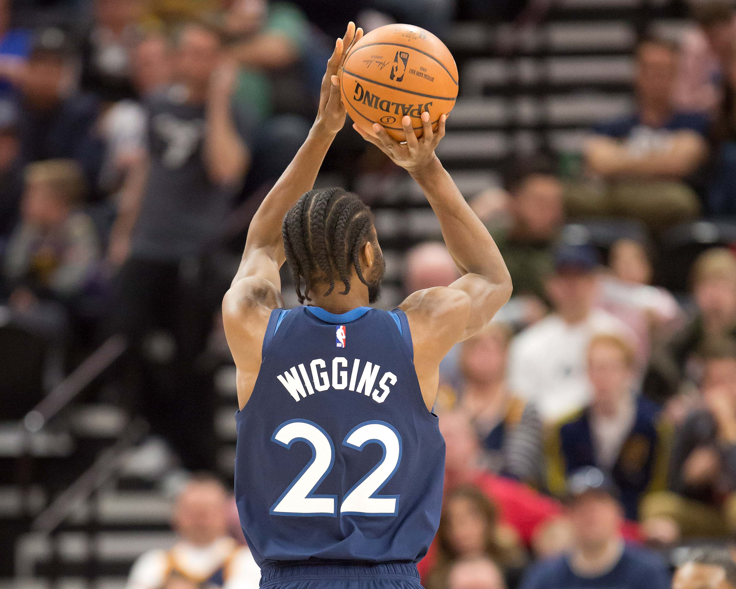 Film Breakdown: Andrew Wiggins' Shooting vs Jazz