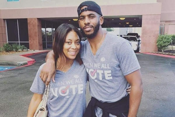 Meet Jada Crawley - NBA Player Chris Paul's Wife and Mother Of His Two Children