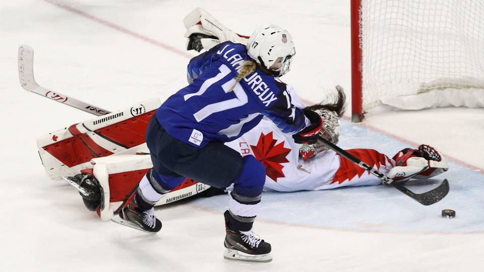 USA beats Canada in shootout to win Olympic hockey gold