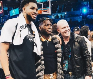 Look: Antonio Brown parties with NBA stars during All-Star Weekend
