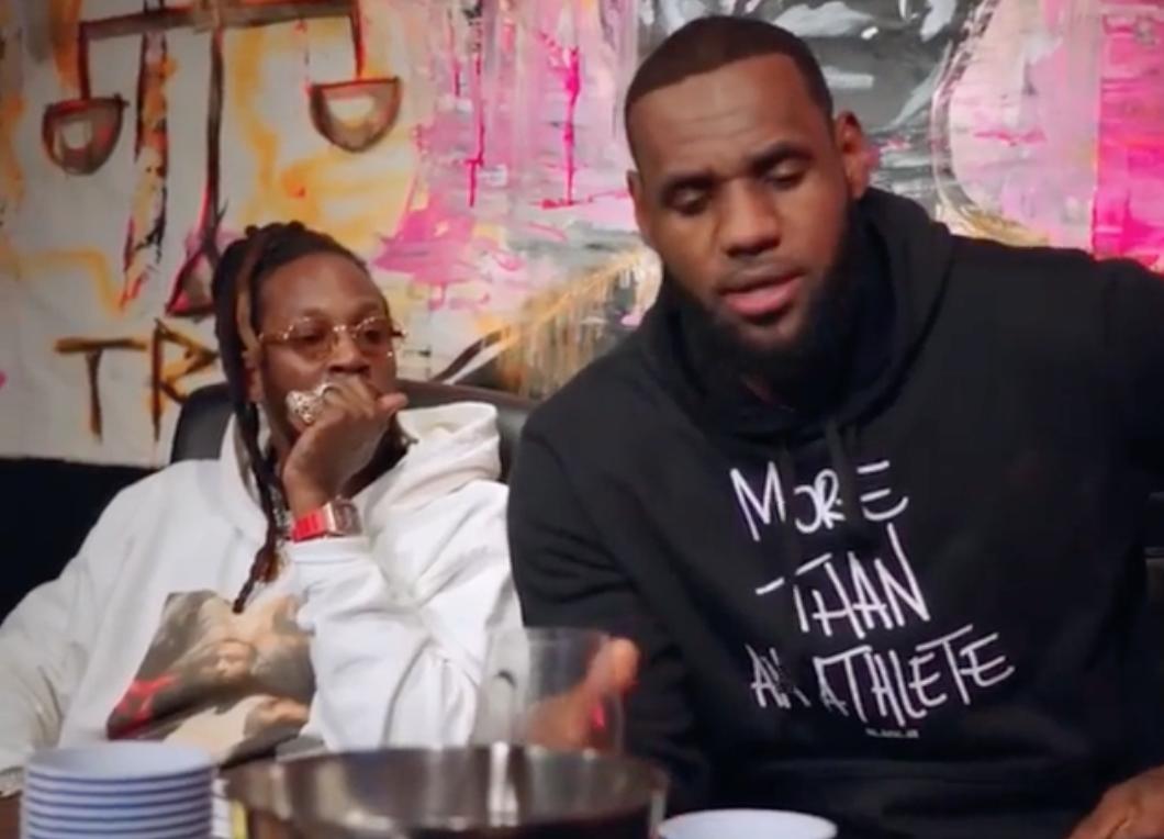 LeBron James recording new album with rapper 2 Chainz