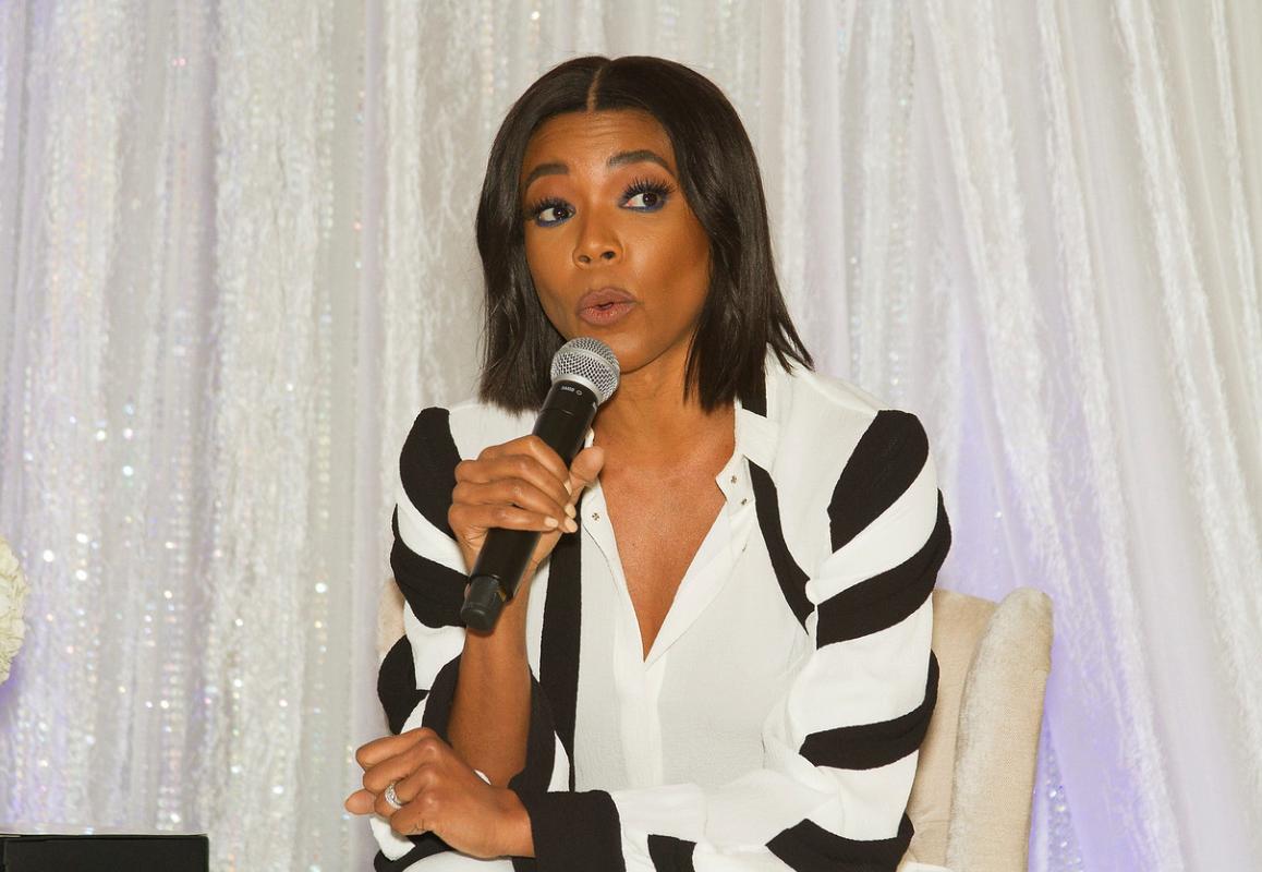 Look: Dwyane Wade's beautiful wife Gabrielle Union speaks at All-Star Weekend