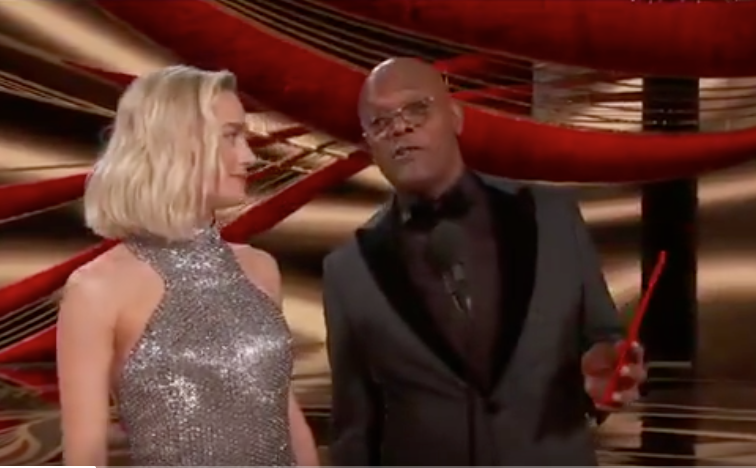 WATCH: Actor Samuel L. Jackson delivers funny joke about Knicks to Spike Lee at Academy Awards