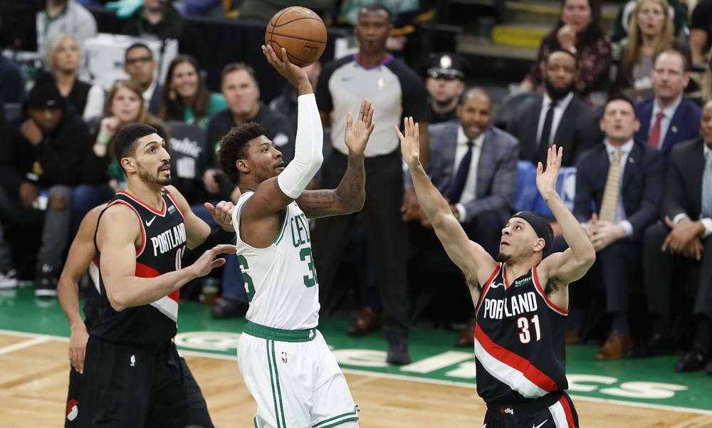 Recap: Being at home can't save the Celtics as they lose to Blazers, 97-92