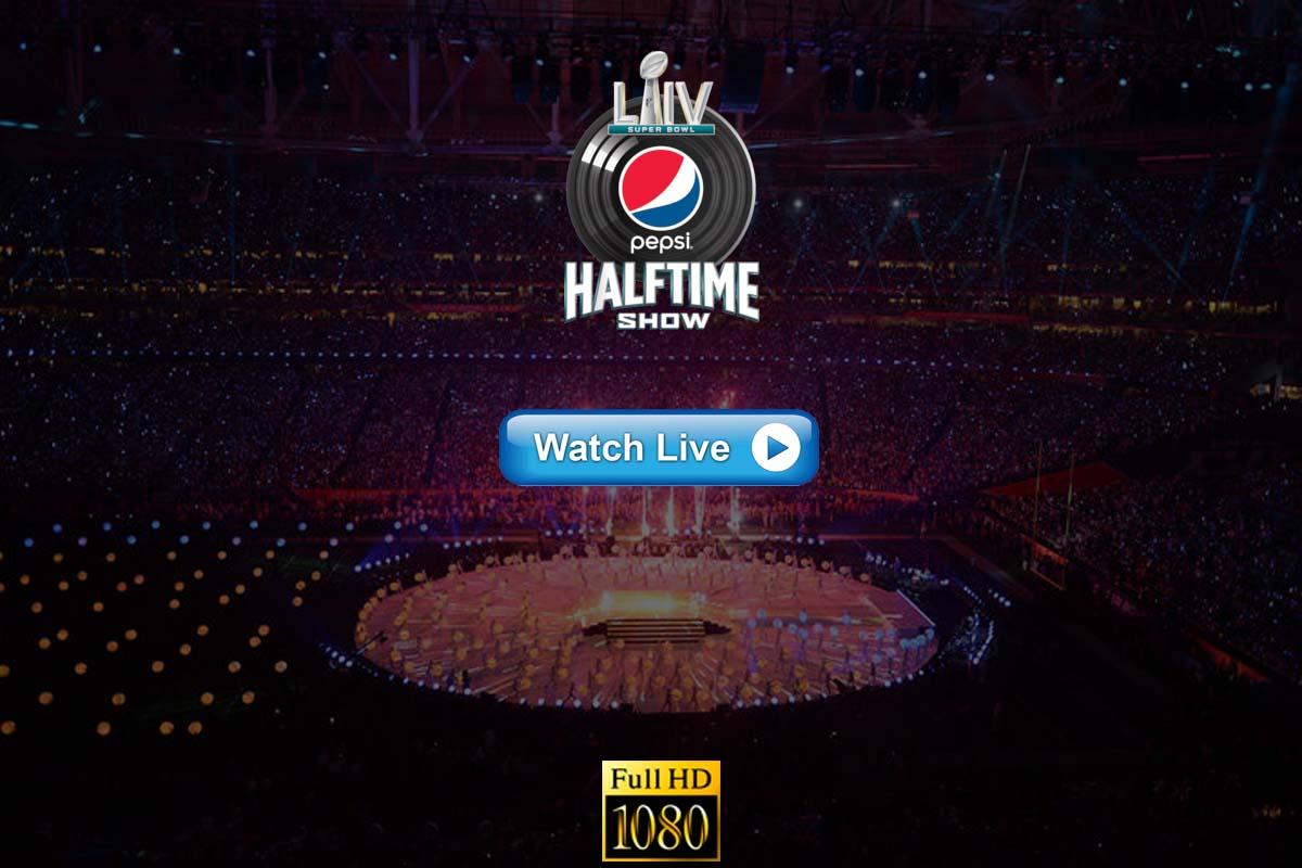Super Bowl HalfTime Show live streaming