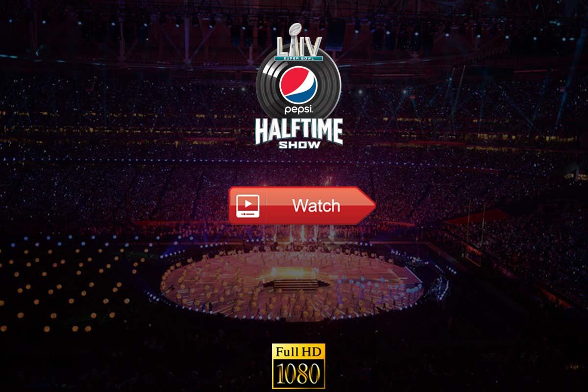Super Bowl Halftime Show live stream