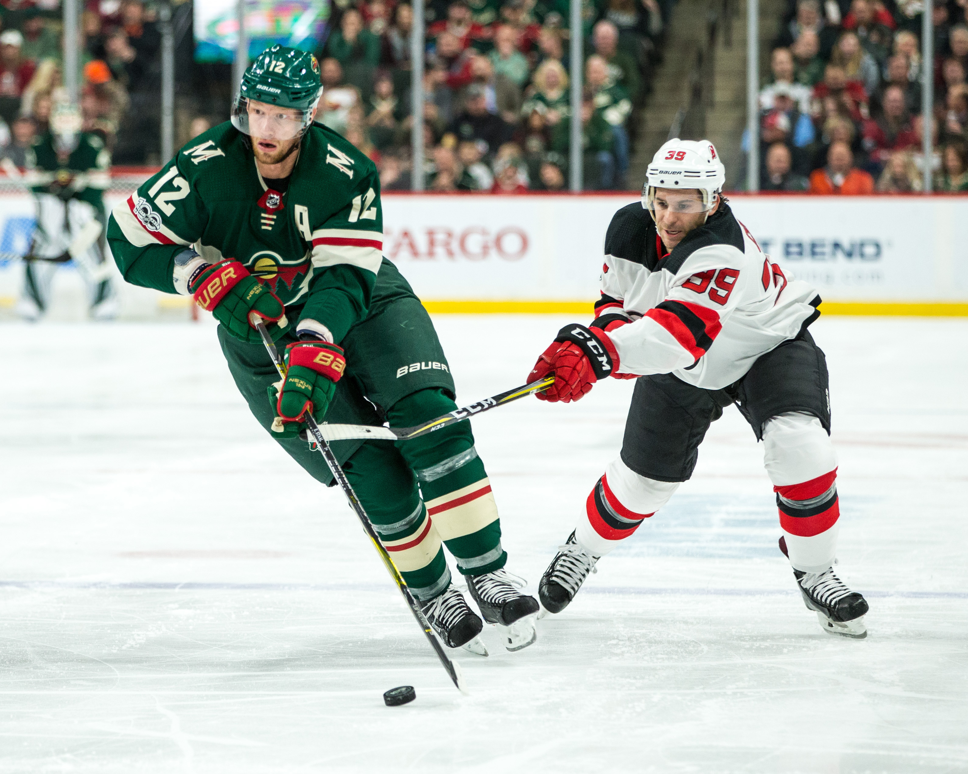 Another Squandered 3rd Period Lead By the Wild in 5-4 Overtime Loss to New Jersey