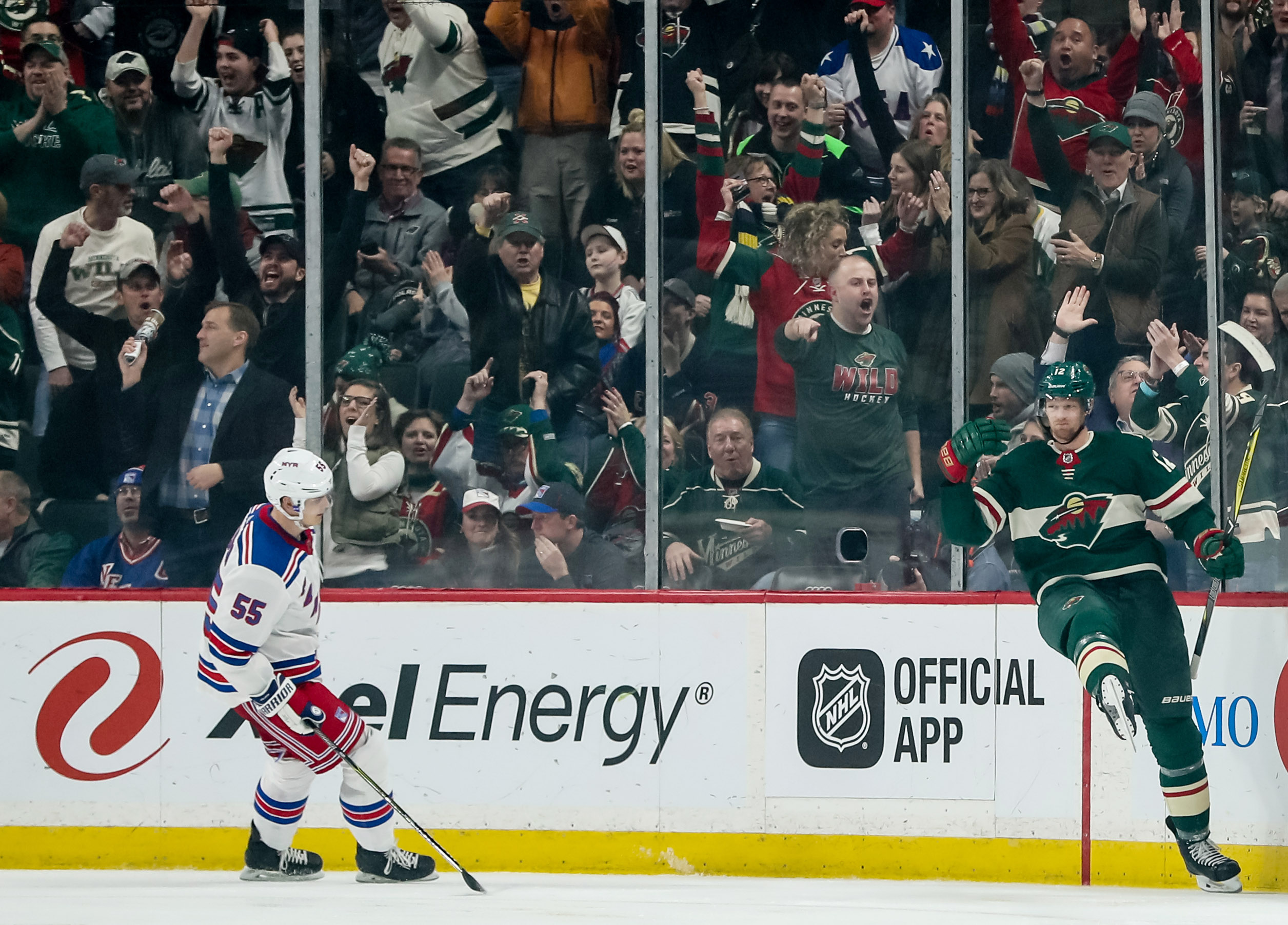 Wild's offense wakes up in 4-1 against Rangers