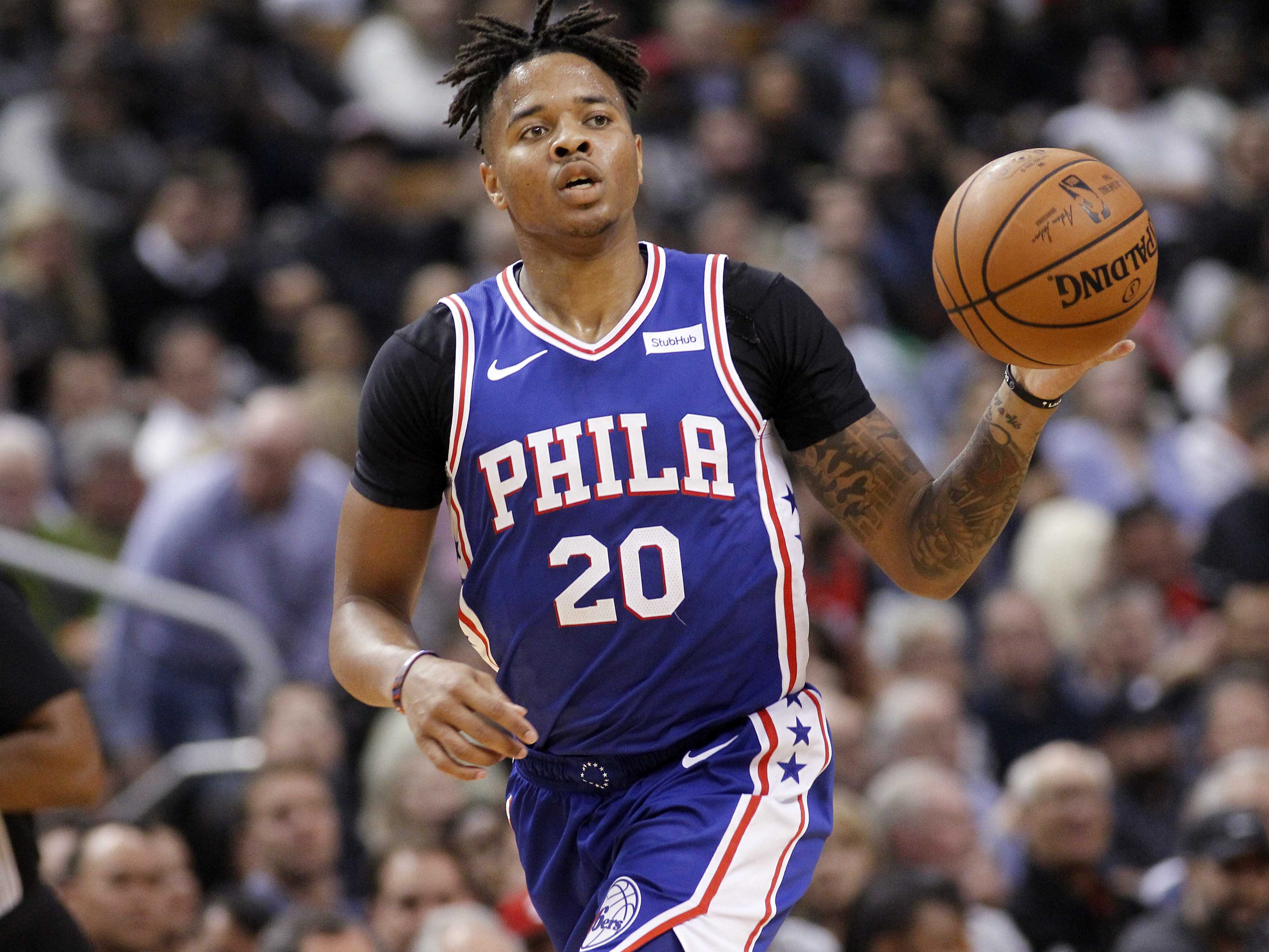 Markelle Fultz says goodbye to the Sixers