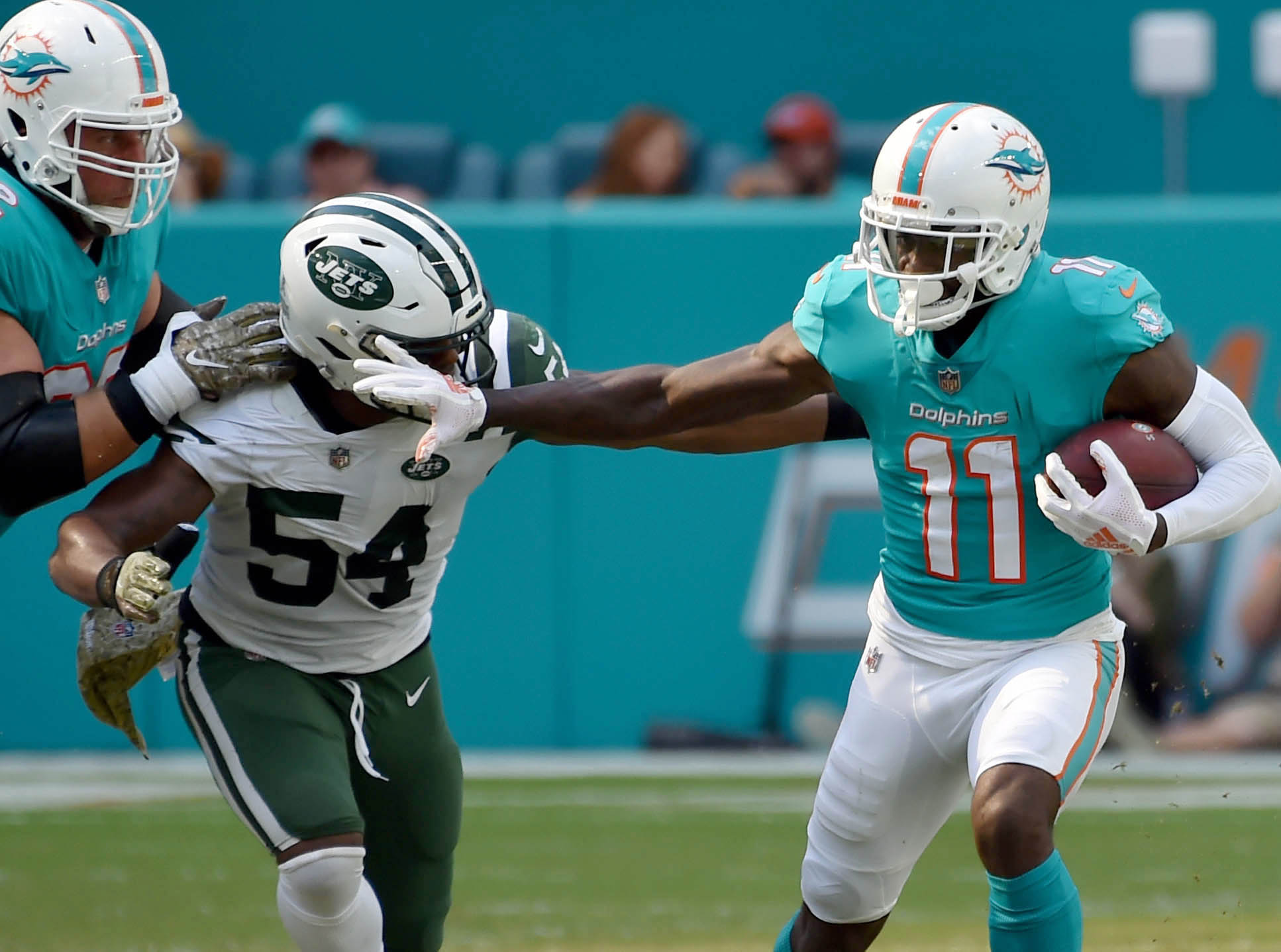 Dolphins could be moving on from DeVante Parker, Danny Amendola