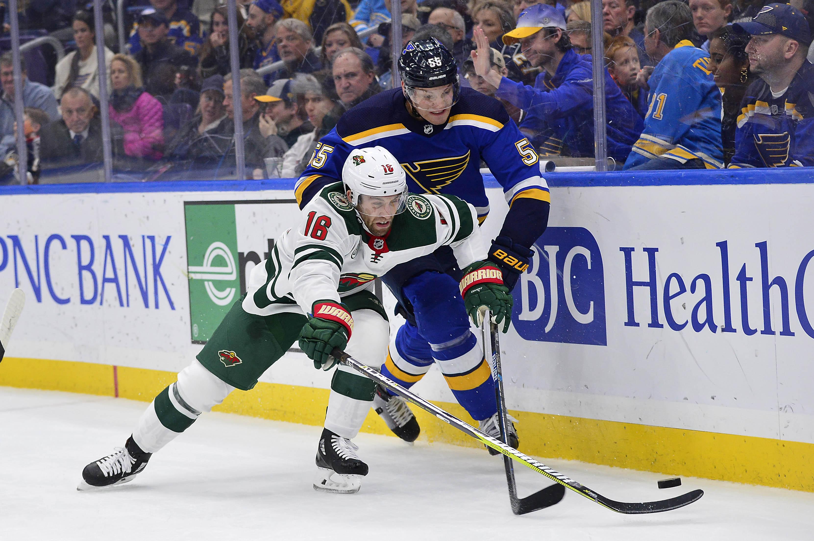 Game Preview: Minnesota Wild vs. St. Louis Blues 2/24/19 @ 6:00PM CST at Xcel Energy Center