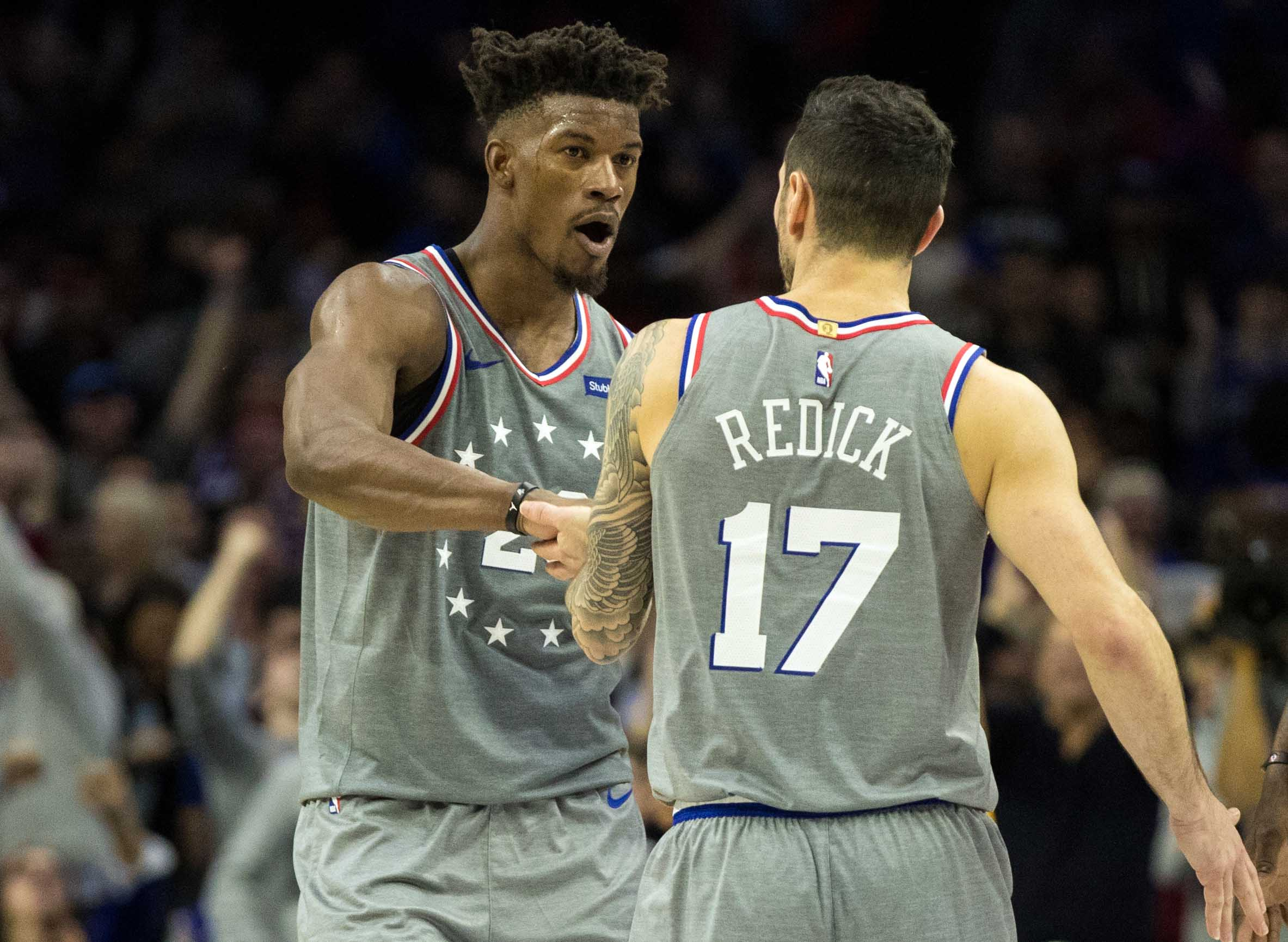 Terrible teammate Jimmy Butler wouldn't stop interrupting JJ Redick during post-game presser