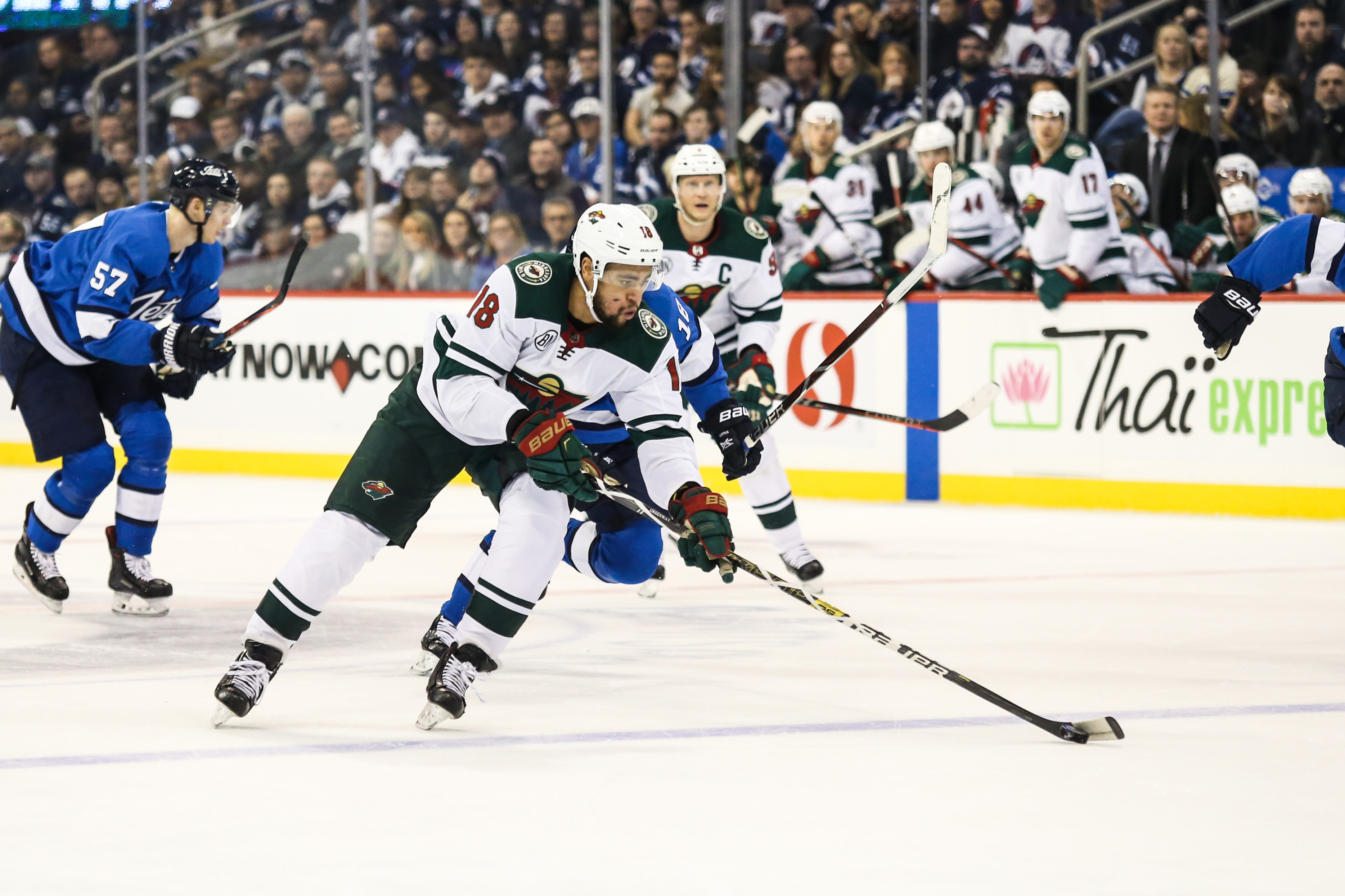 Persistent effort leads Wild to 3-2 regulation win over Jets