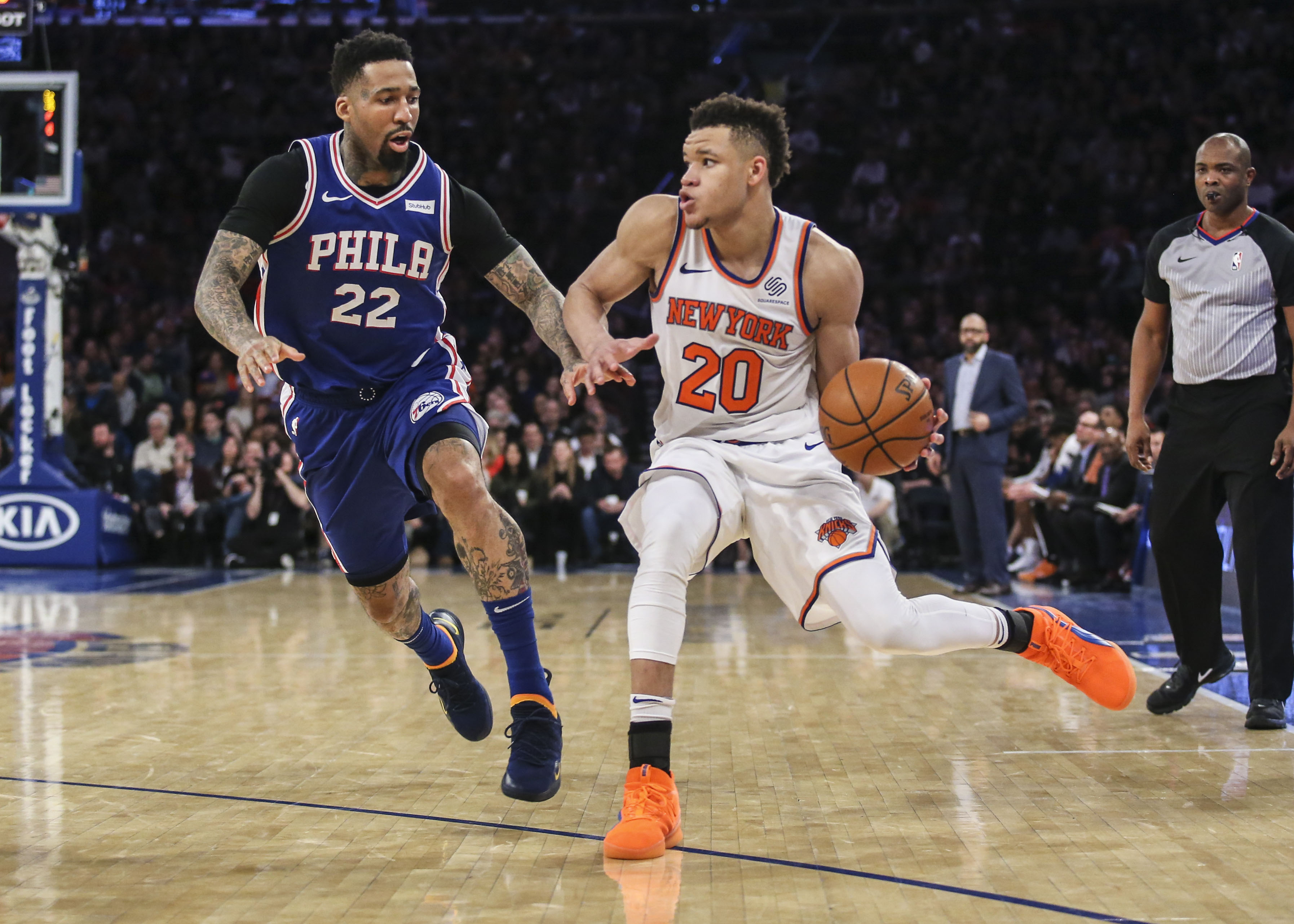 Sixers' Wilson Chandler expected to miss up to two weeks
