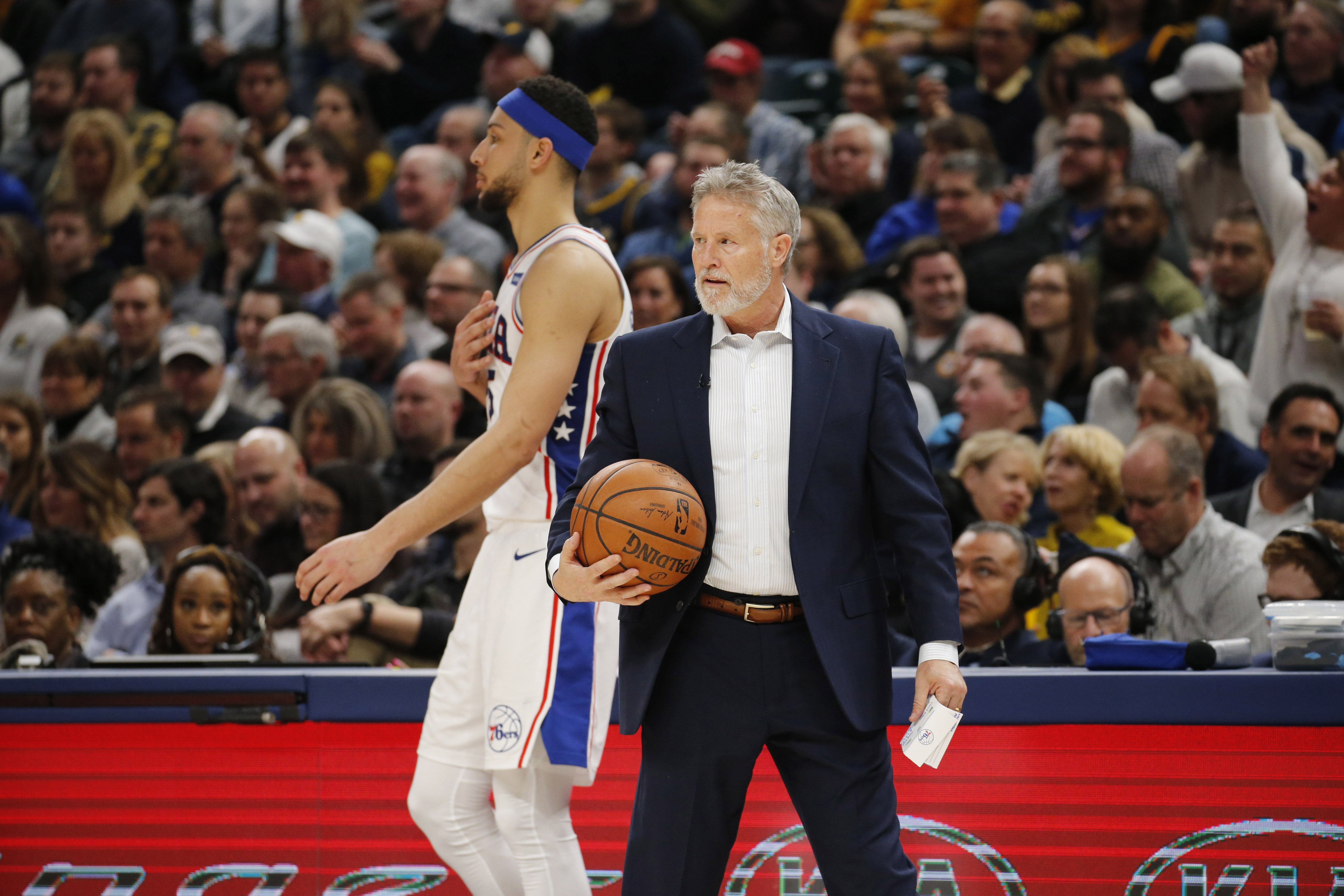 Brett Brown will continue to experiment with Sixers lineups until he's comfortable