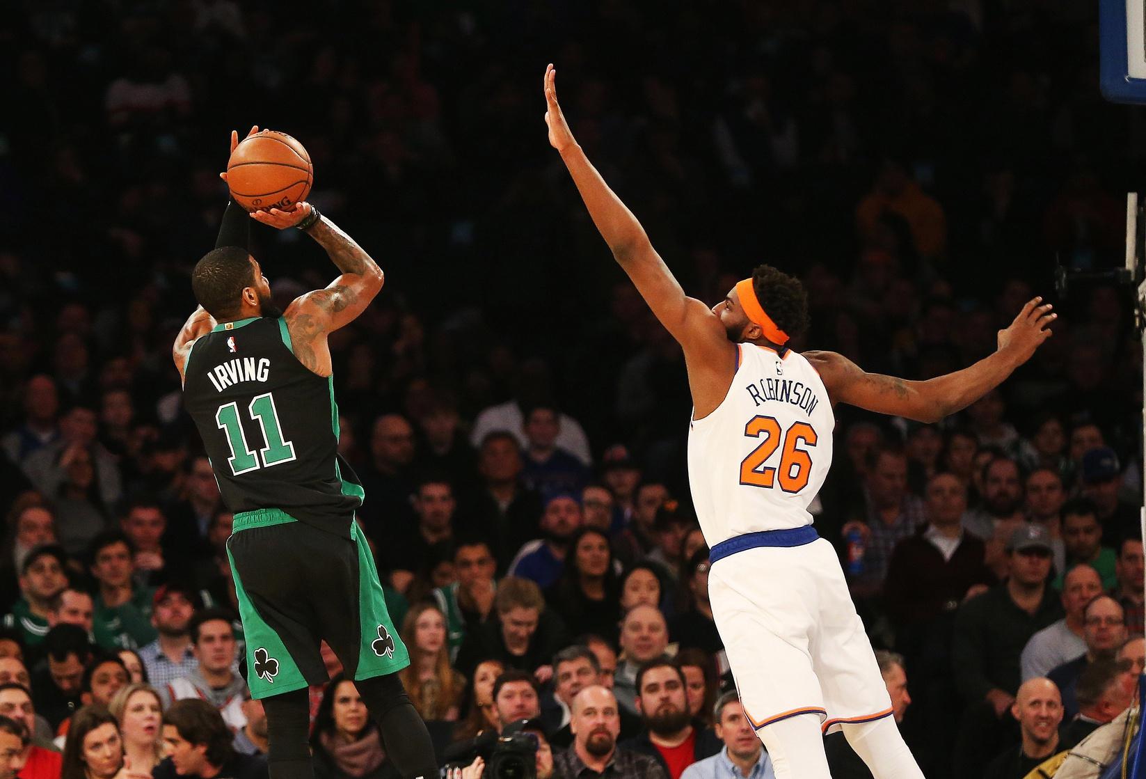 Recap: Celtics beat Knicks as Kyrie miraculously doesn't change teams